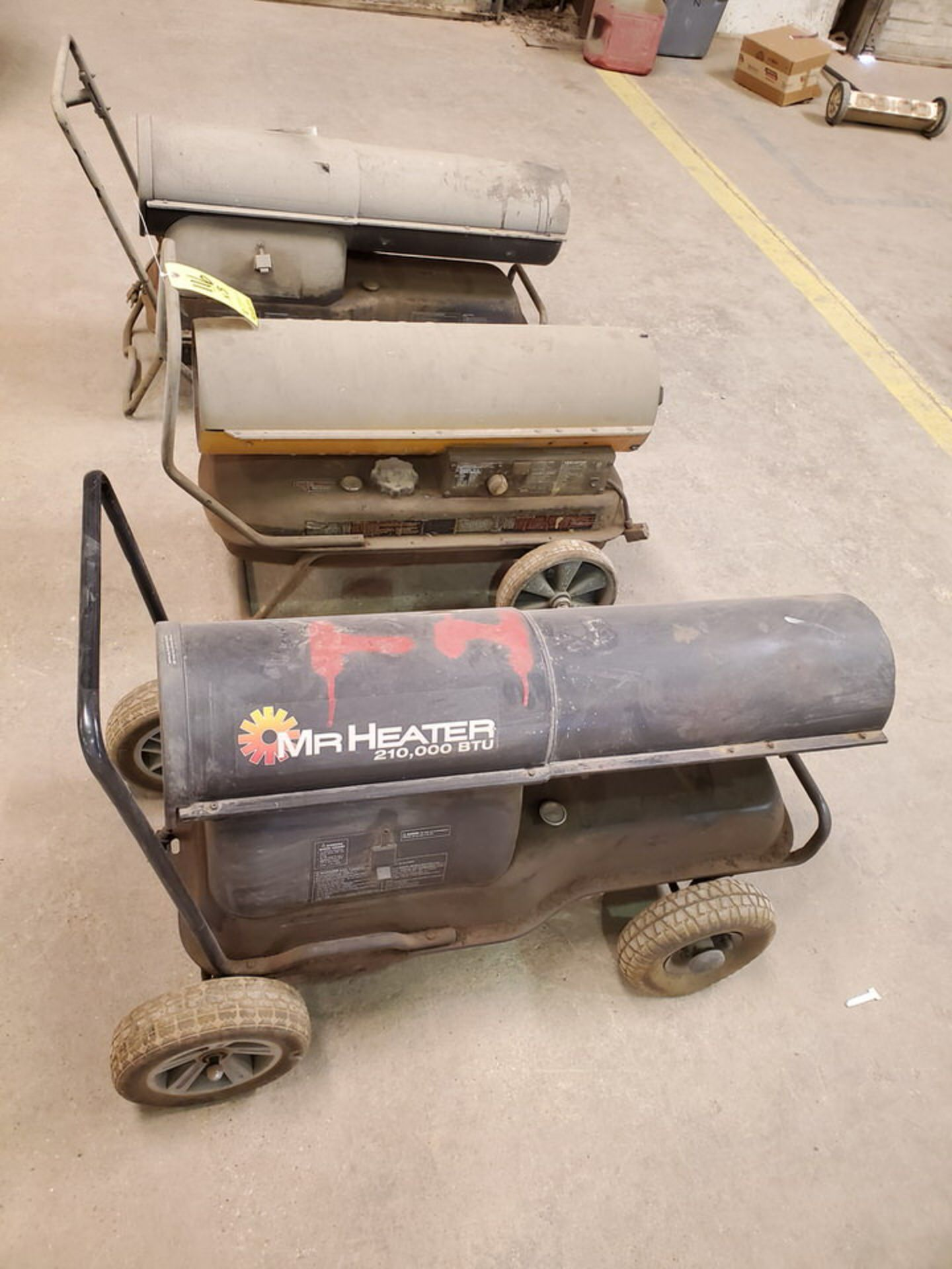 (3) Torpedo Heaters BTU: 175-215K (Mfg- Mr. Heater & etc.) - Image 4 of 5