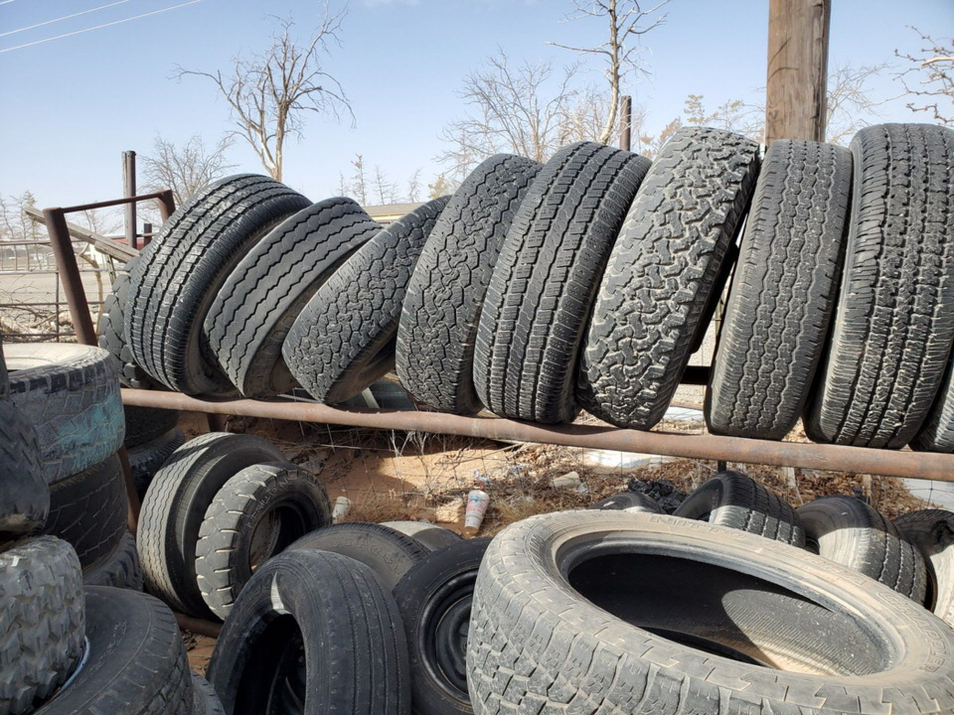 Assorted Tires W/ Rack - Image 5 of 9
