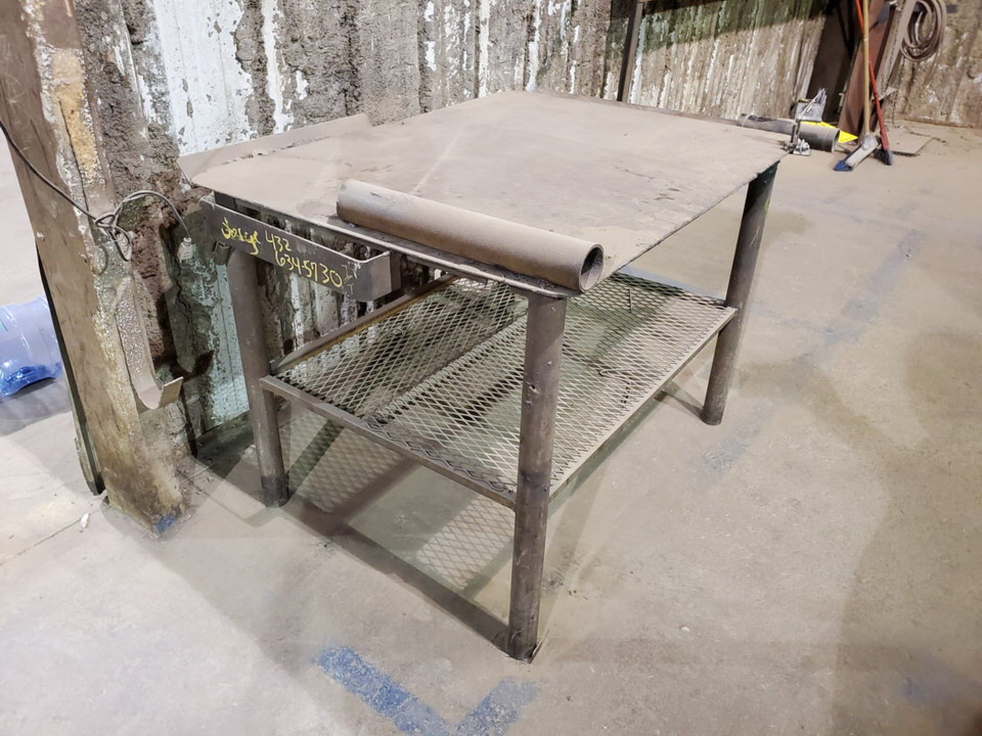 """Stl Welding Table 40"""" x 53"""" x 34""""H - Image 4 of 4"""