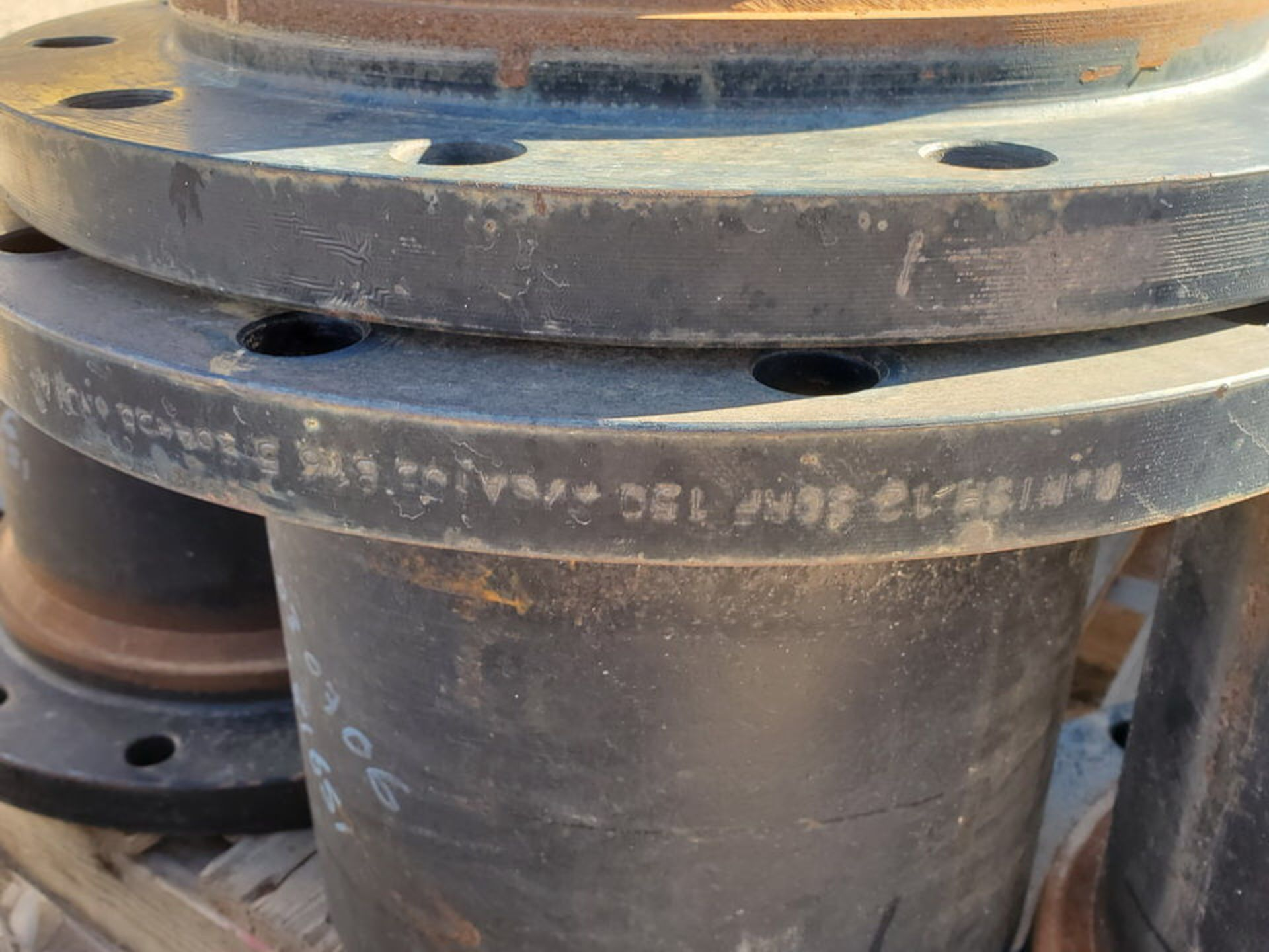 "(24) 12"" Stl Flanged Pipe 150# A/SA105 - Image 2 of 5"