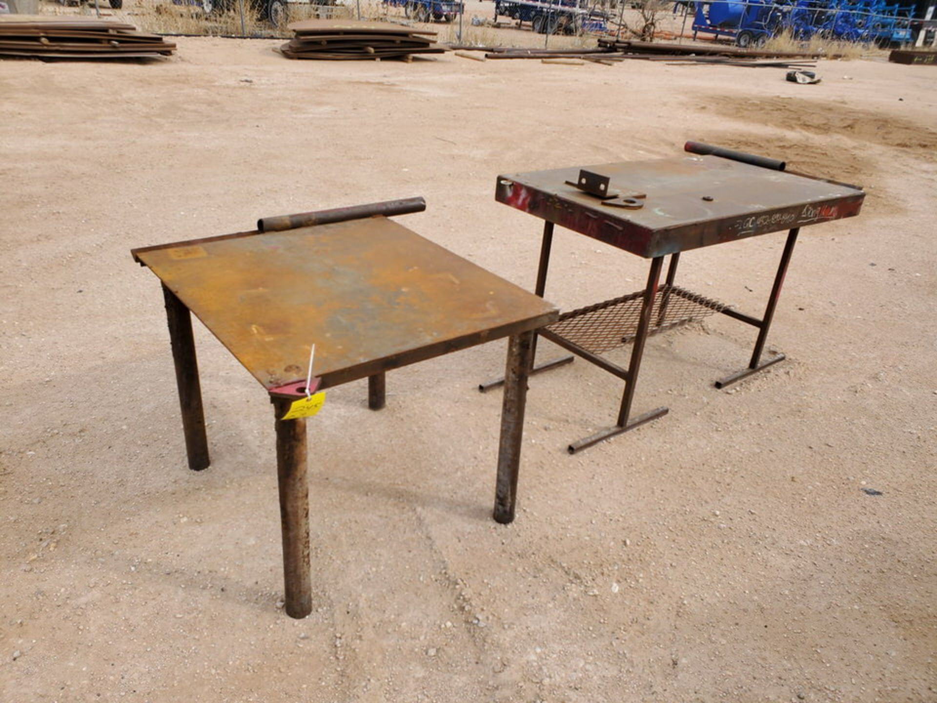 """(2) Stl Welding Tables (1) 36"""" x 43"""" x 30"""", (1) 60"""" x 29"""" 36"""" - Image 6 of 6"""