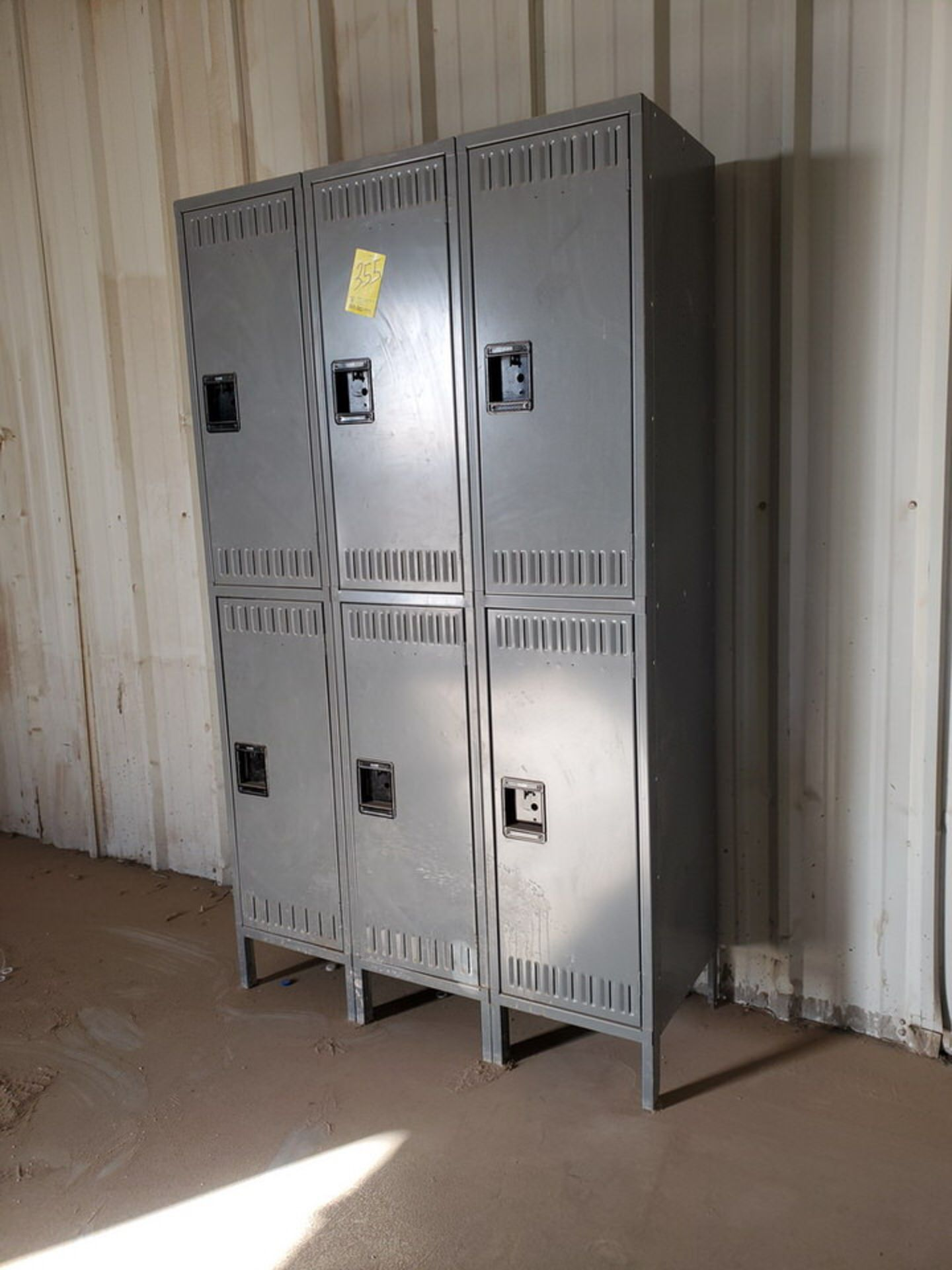 "U-Line (1) Section Of (6) Lockers 18"" Deep, 35""W x 78""H - Image 3 of 4"