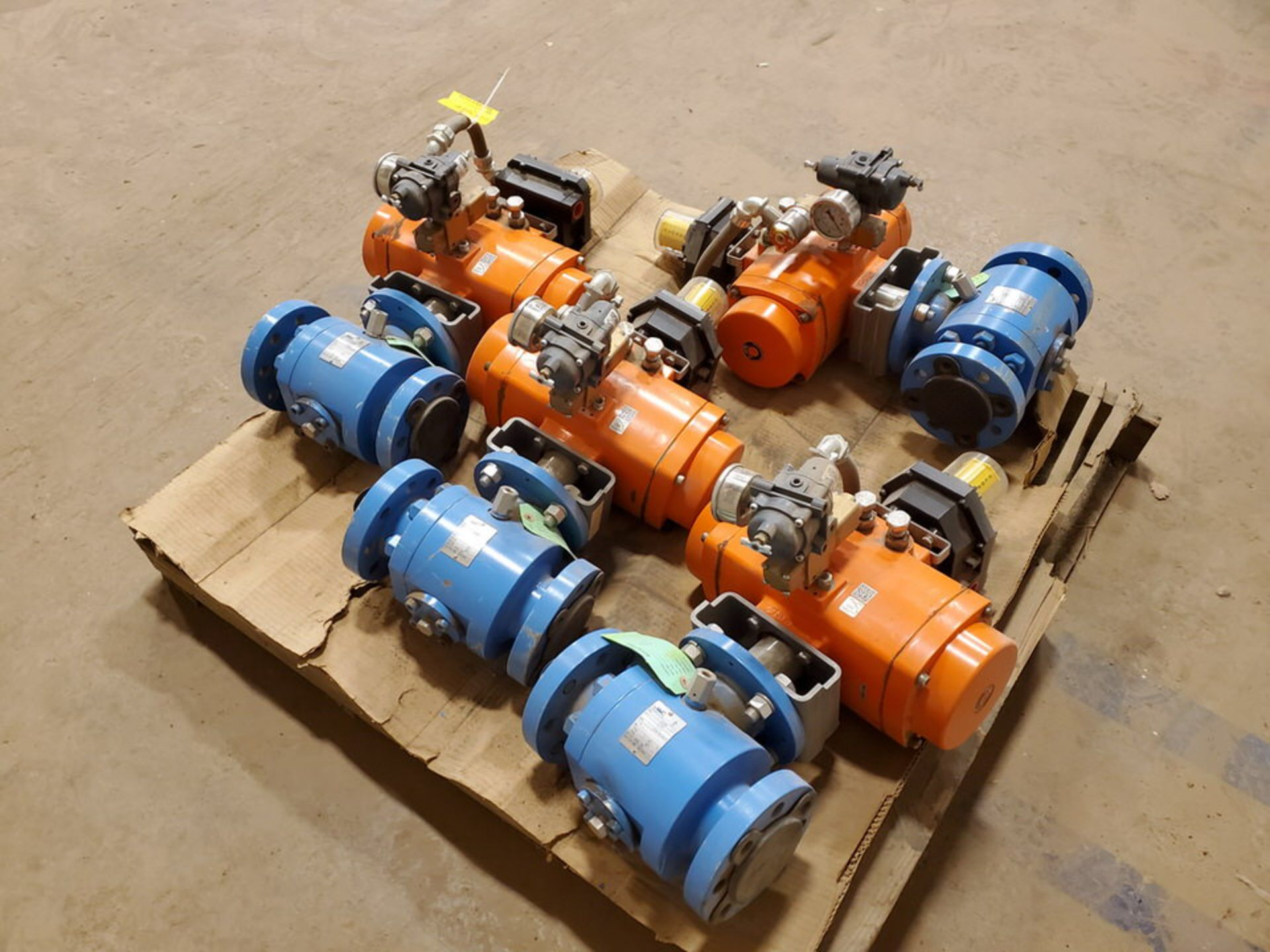 "2018 GWC (4) 2"" x 2"" Actuated Ball Valves 600 Class, 1480psi@-20F, 1310psi@300F - Image 5 of 6"