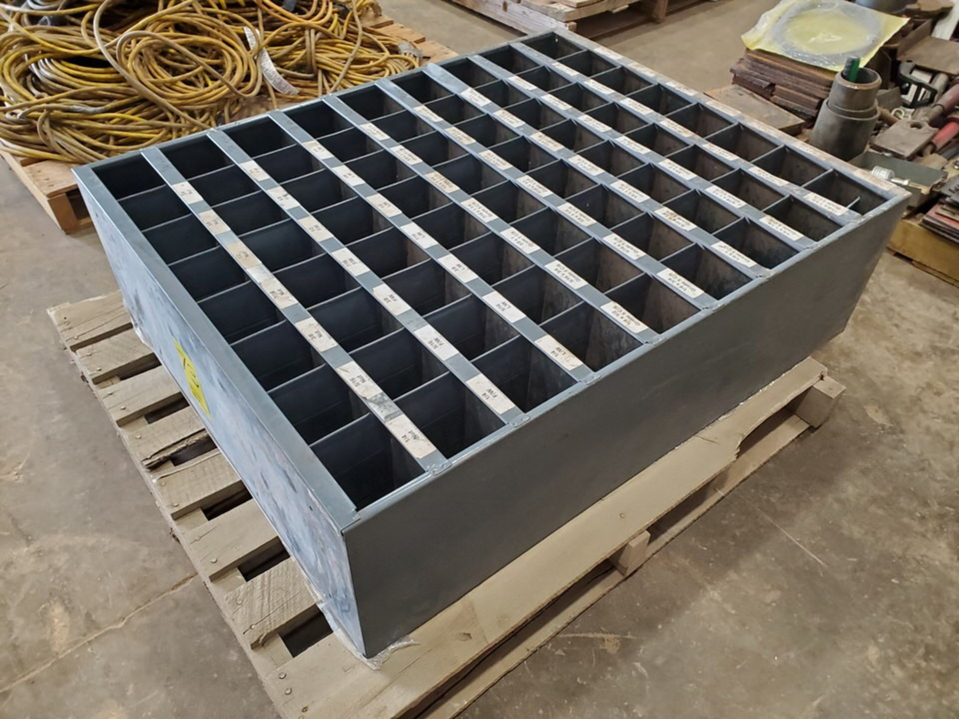 """(2) Parts Bins To Include But Not Limited To: Nuts, Bolts, Washers, etc. Size Range: 1/4""""-4"""" - Image 6 of 15"""