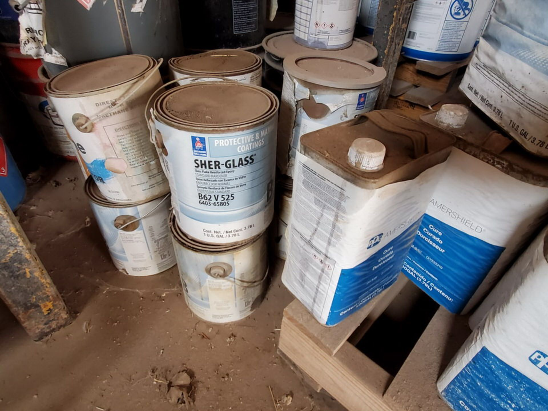 Assorted Paints & Marine Coatings Mfg's: PPG, Intl. & Other - Image 4 of 10