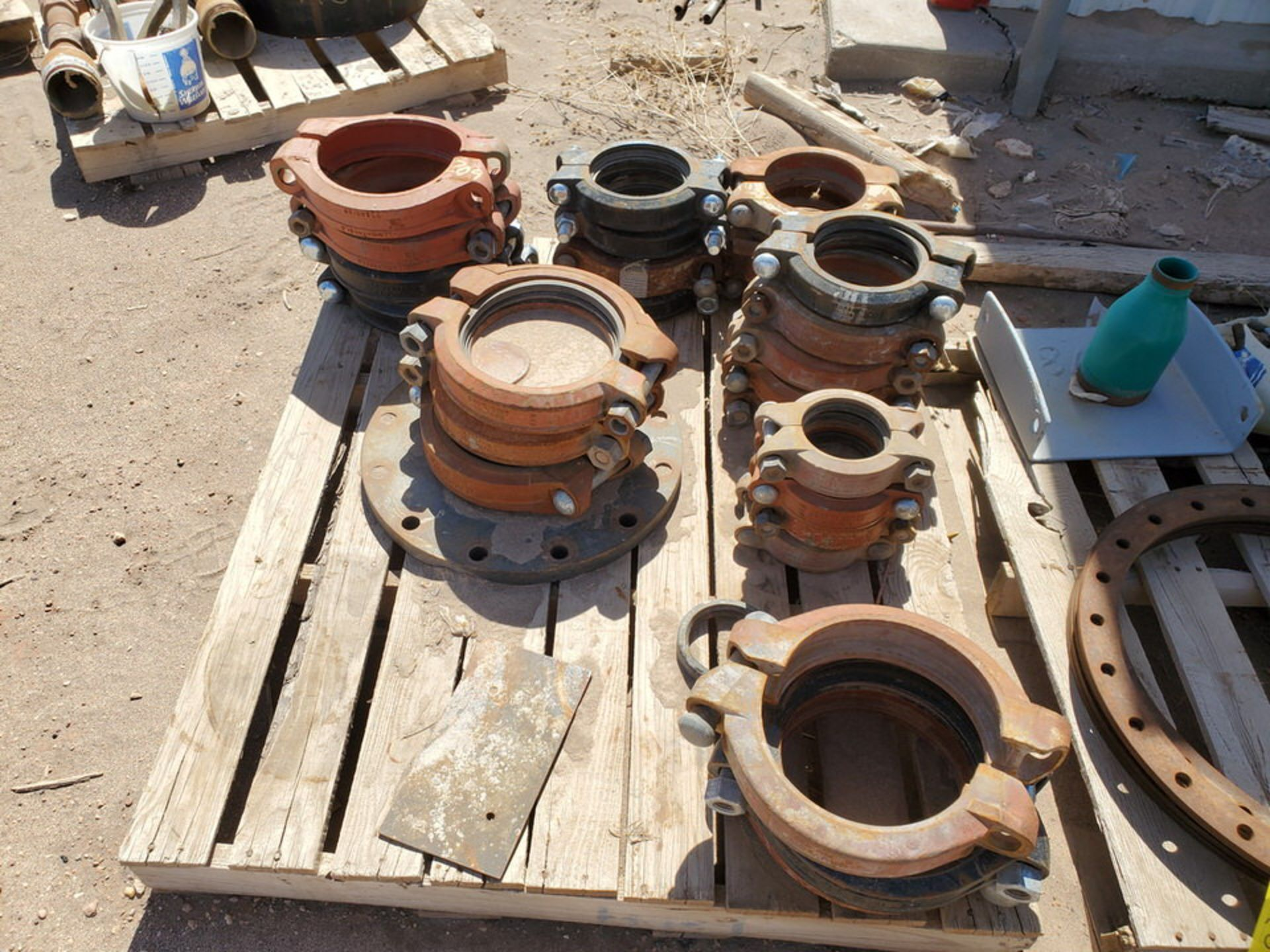 Assorted Fittings To Include But Not Limited To: Assorted Flanges, Caps, Couplings, etc.; Size - Image 7 of 14