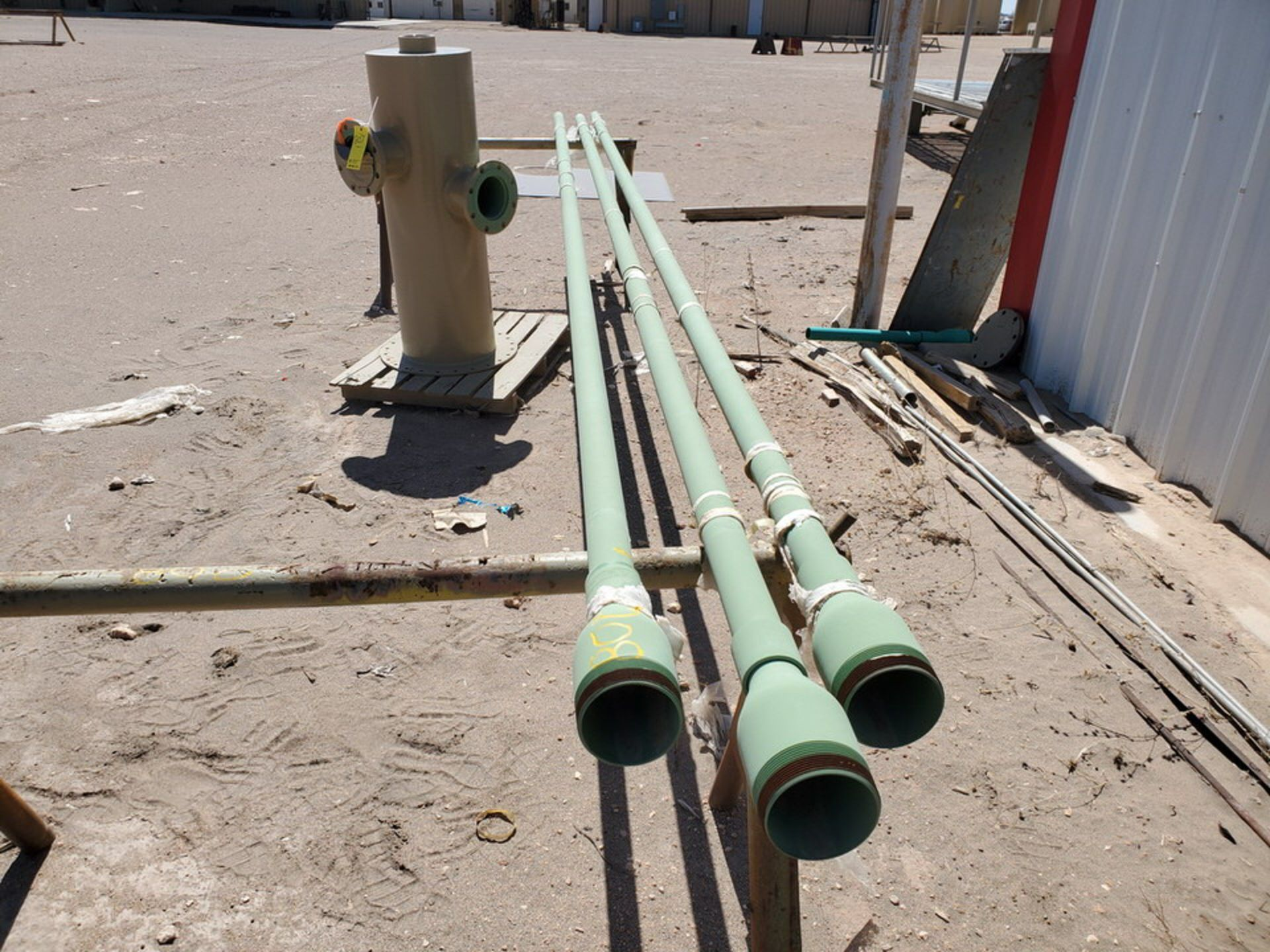 "(3) 2"" Pipe 19'2"" - Image 2 of 7"