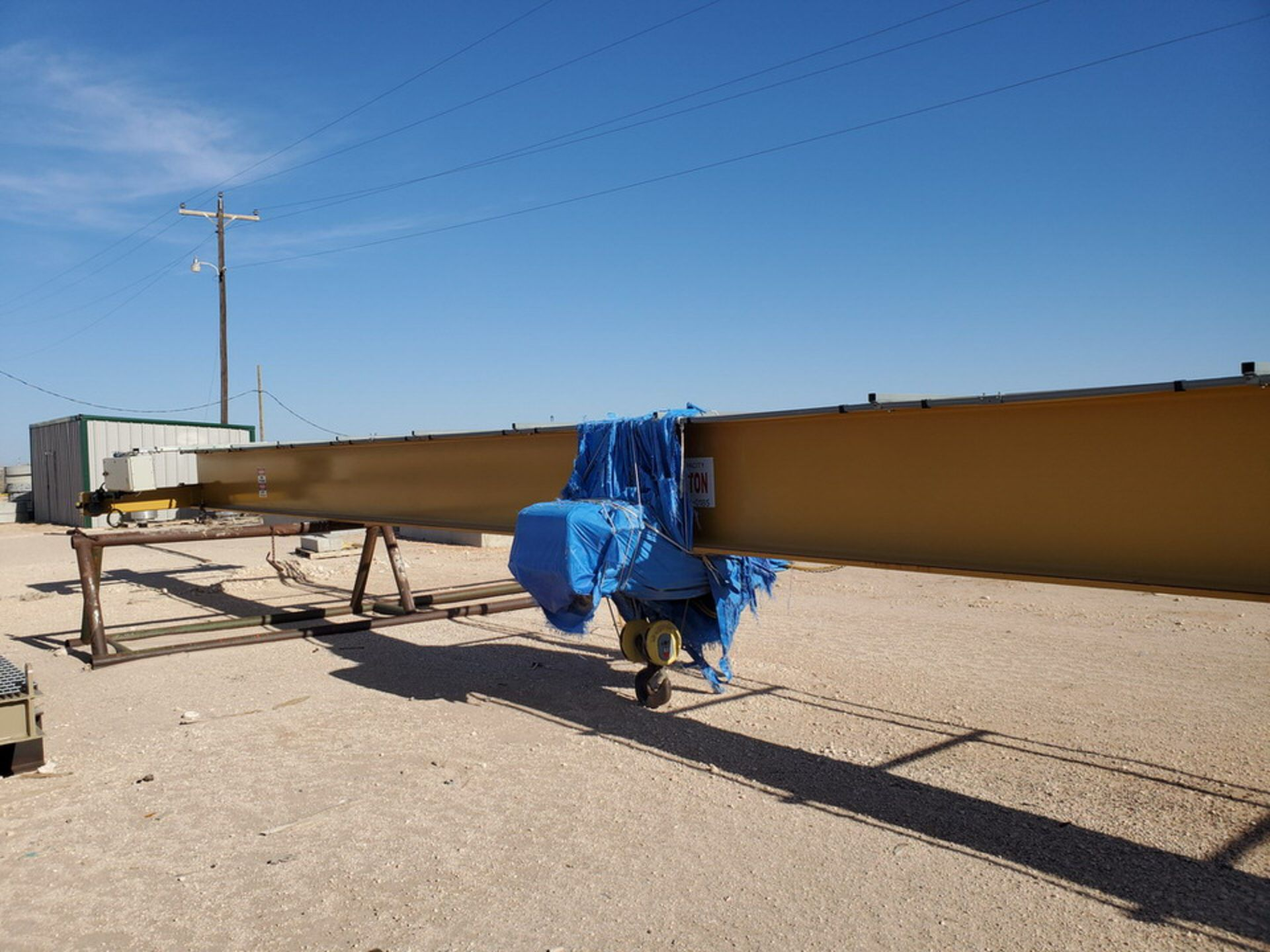 R & M 10 Ton Top Riding Bridge Crane Approx. 66' x 10'L - Image 4 of 39