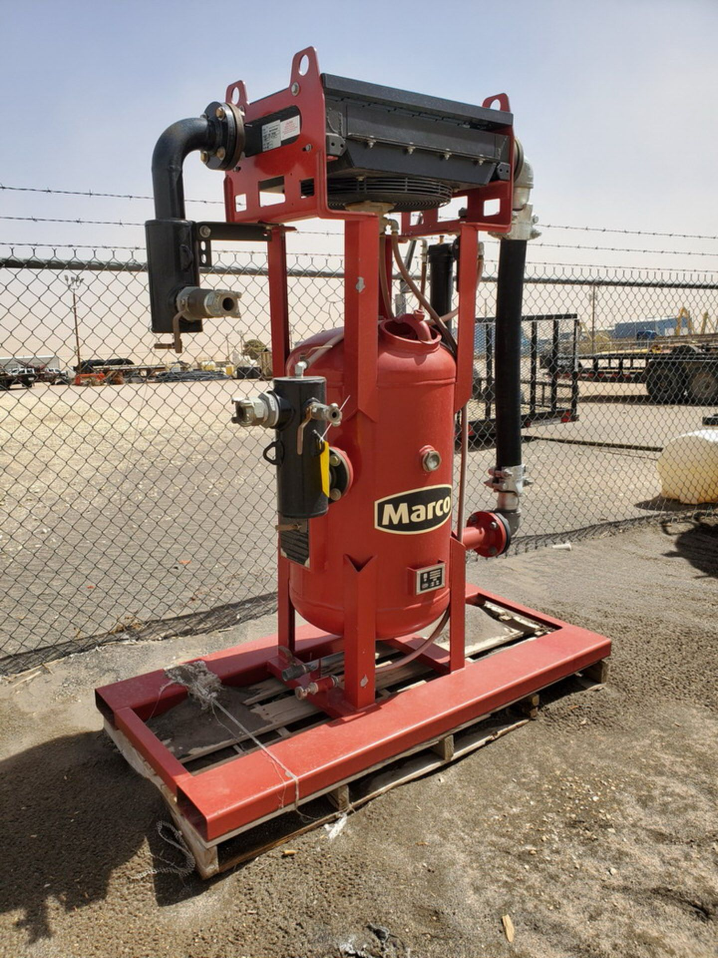"""2017 Marco Air Dryer 150psi@250F, -20@150psi, Vessel Dims: 30"""" Seam To Seam; Overall Dims: 72"""" x 35"""" - Image 2 of 11"""