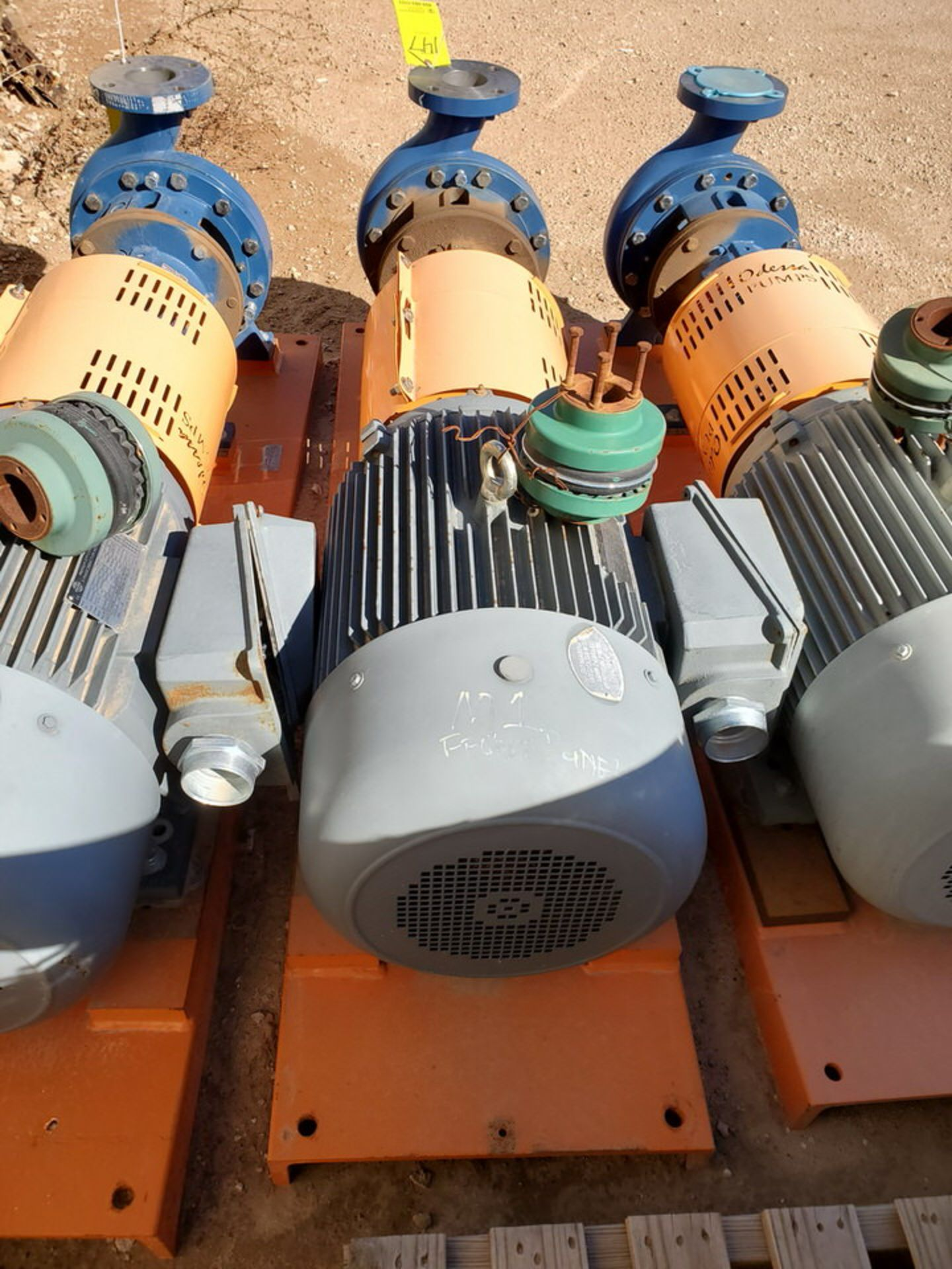 2018 Griswold 811M Centrifugal Pump Size: 4 x 3-10, 7.83 Imp Dia; W/ 50HP Motor - Image 5 of 8