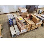 "LE & Radnor, etc. Assorted Welding Rods & Cored Spool Wire Size Range: 5/32"" x 14"" 3/16"" x 18"""