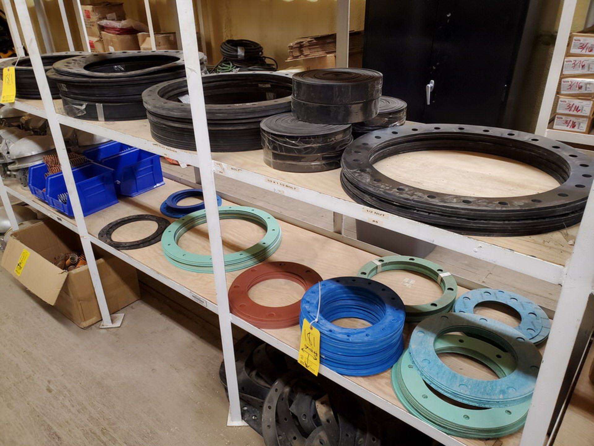 """Assorted Gaskets 9"""" - 48""""; W/ Assorted Springs - Image 12 of 13"""