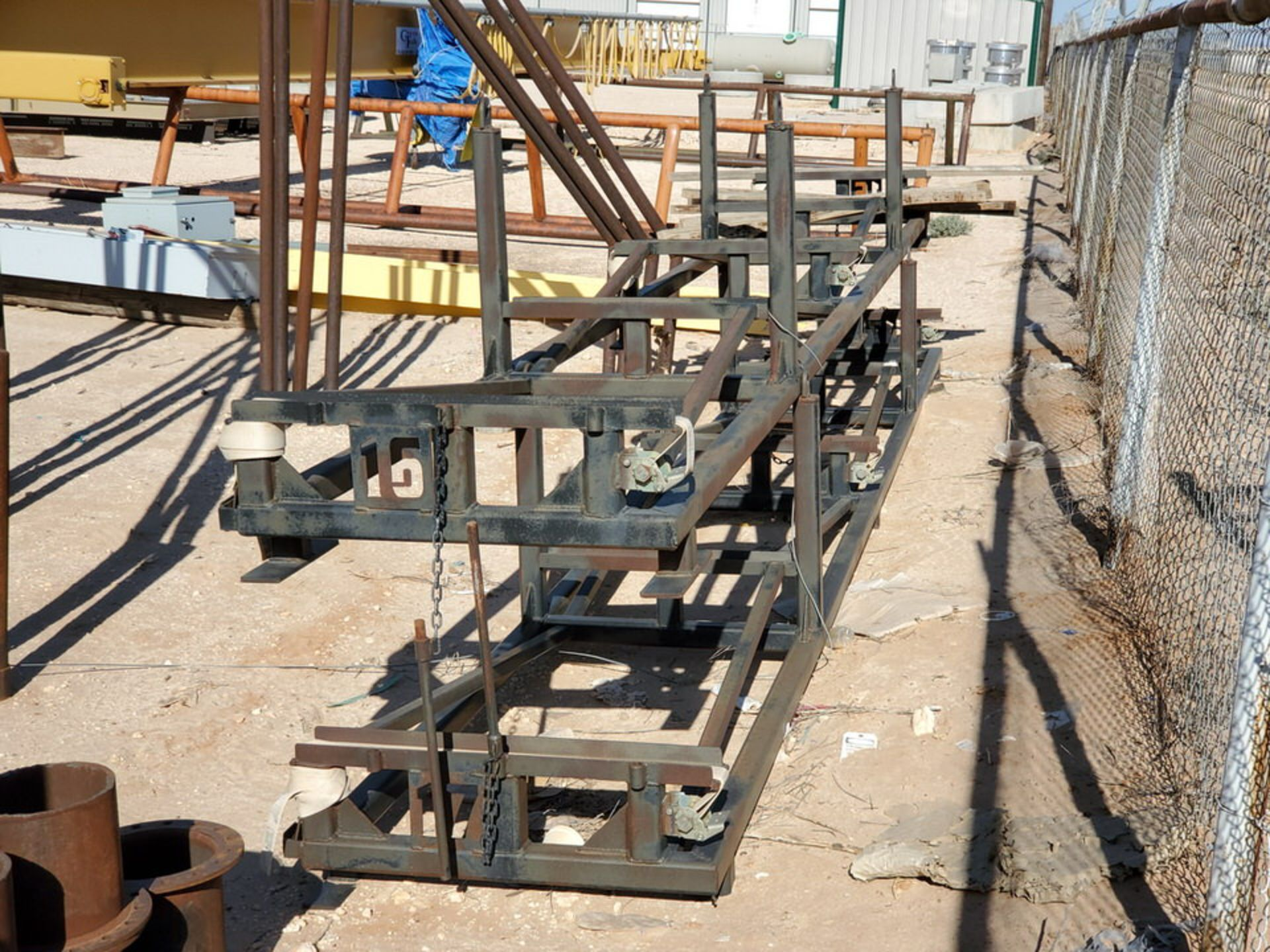 "Rod Storage Rack 20' x 32"" - Image 3 of 5"