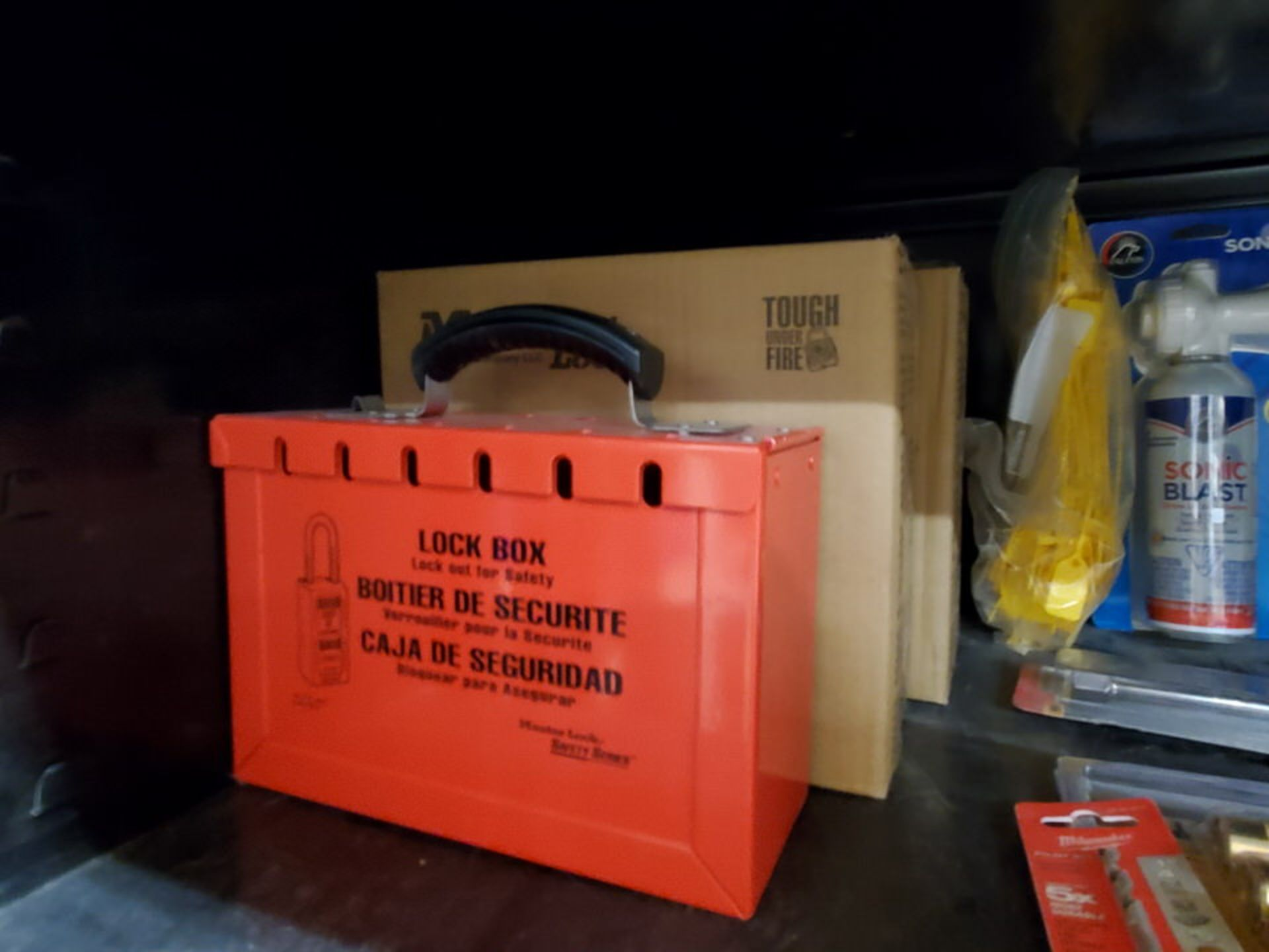 Metal Storage Locker To Include But Not Limited To: First Aid Refill Kits, Assorted Fittings, - Image 8 of 13
