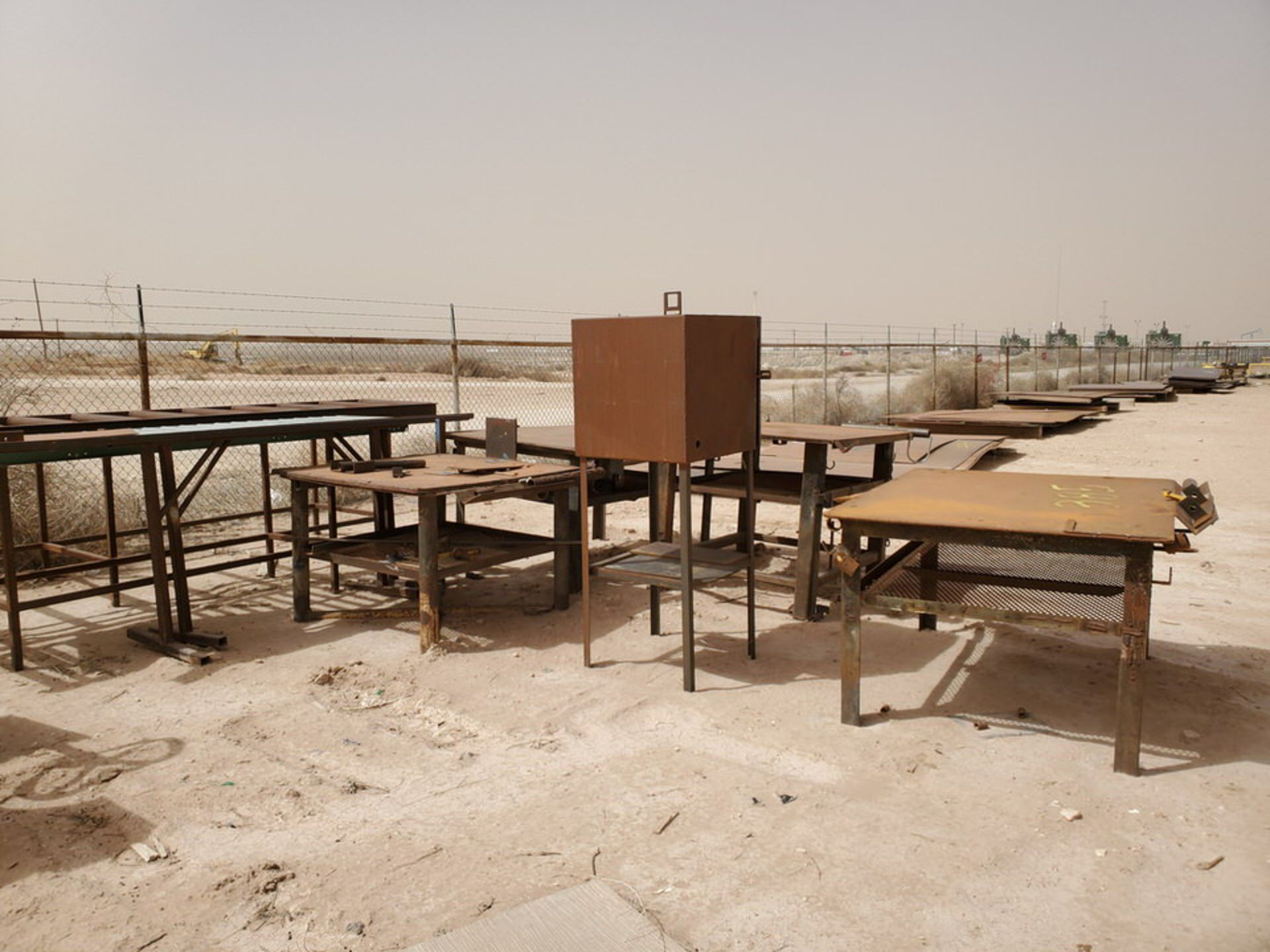 Assorted Matl. To Include But Not Limited To: (3) Welding Tables, Rolling Conveyor, Storage - Image 7 of 11