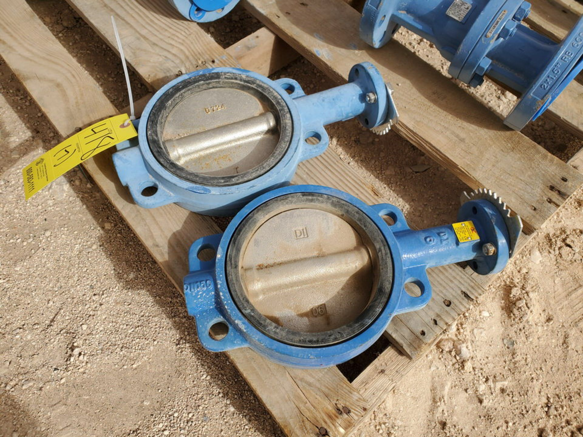 "(7) Assorted Valves (2) 6"" Wafer Butterfly, CE, 200#; (5) 2"" Virgo 600# Ball Valves - Image 8 of 9"