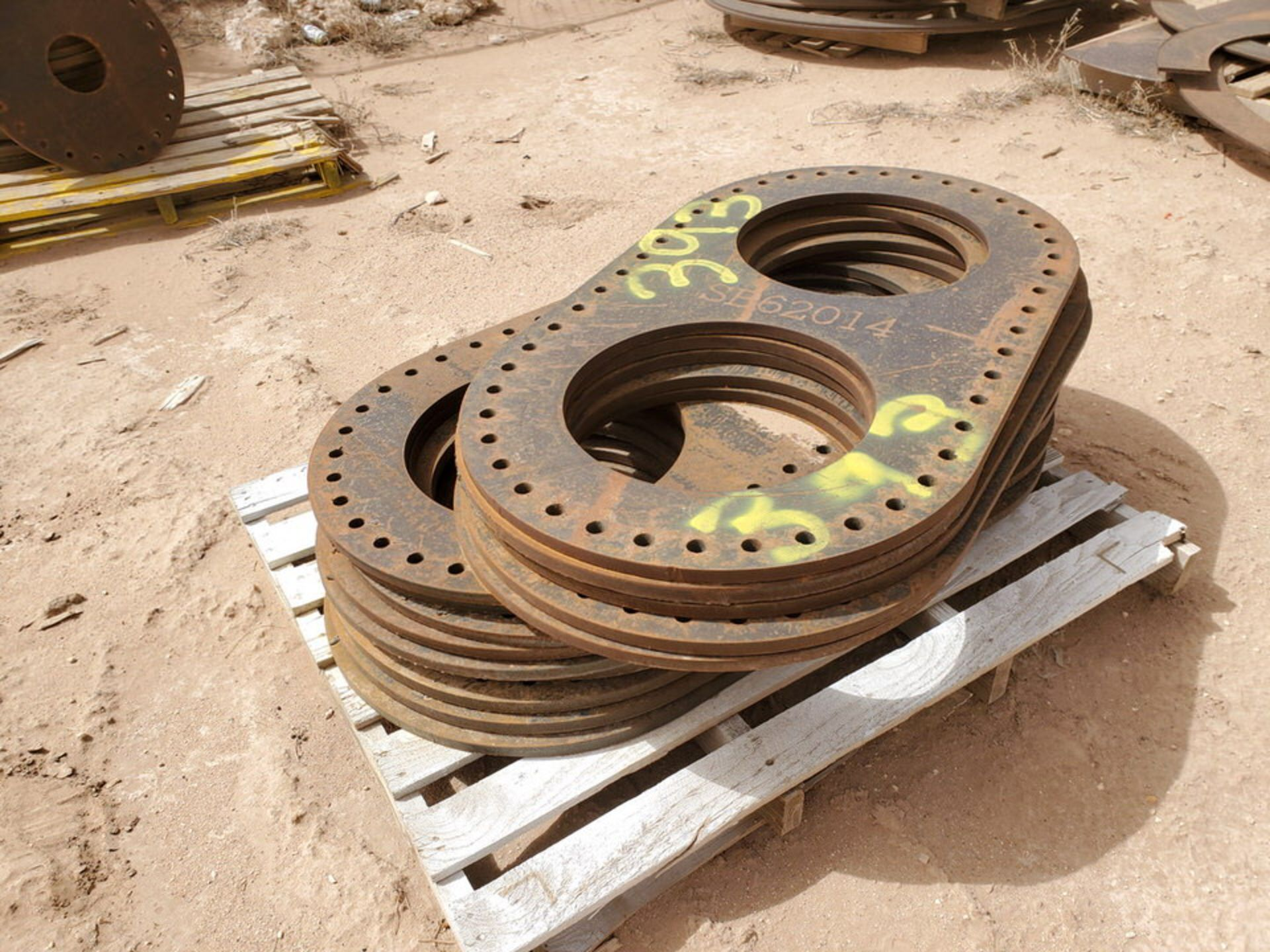 """(14) 16"""" I.D. Double Flanges 48"""" O.D. - Image 2 of 5"""