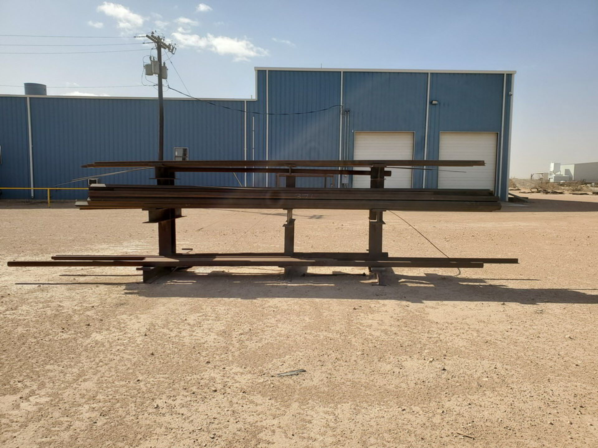 """(65) Angle, Pipe, Rect. Tubing & Other D: 3""""-4"""", L: 10' - 23'6""""; W/ Racks - Image 15 of 19"""