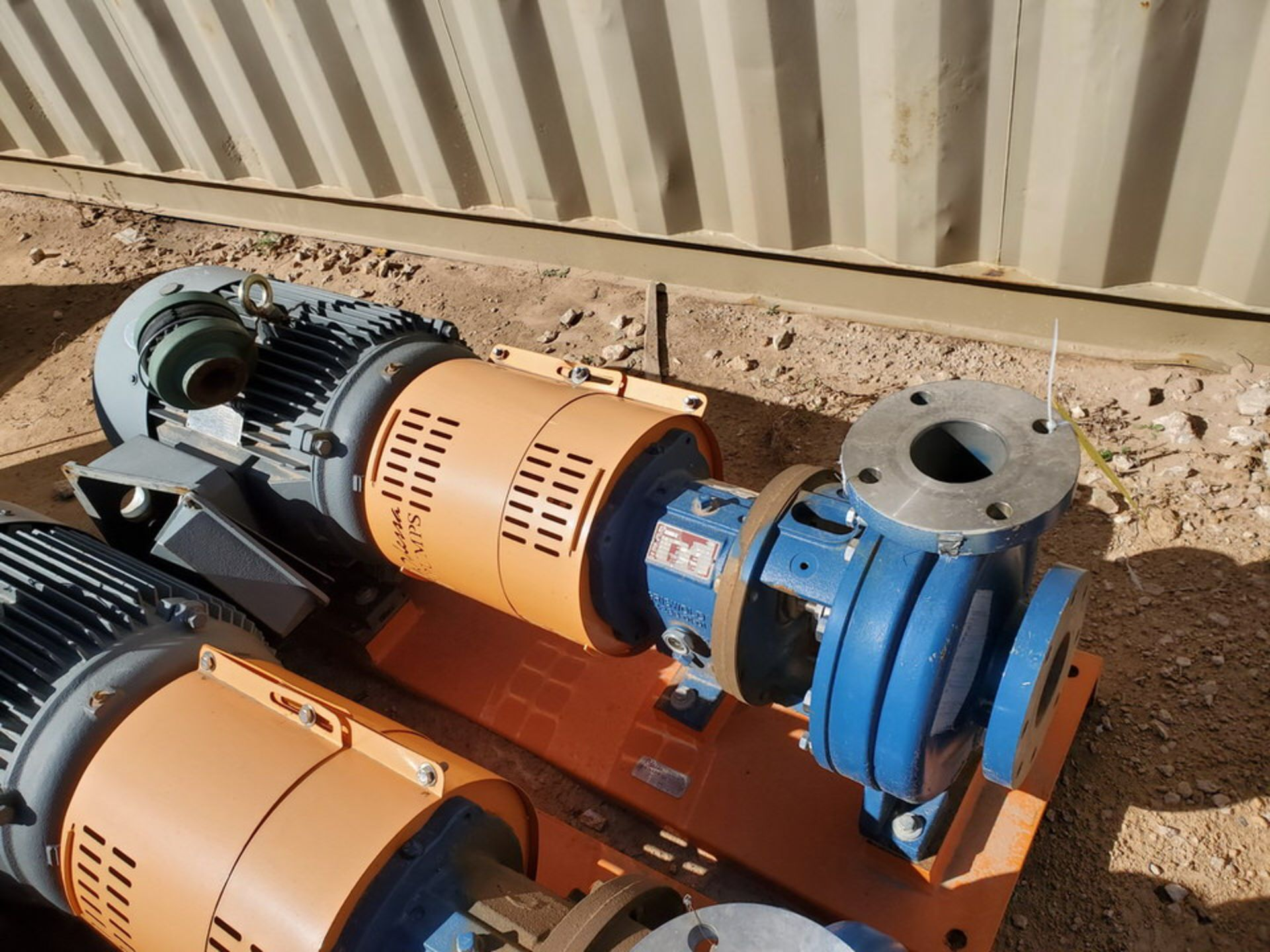 2019 Griswold 811M Centrifugal Pump Size: 4 x 3-10, 7.83 Imp Dia; W/ 50HP Motor - Image 2 of 8