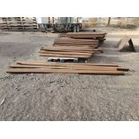 "Assorted Tubing 2"" x 76"" Sq. Tubing; (4) 4"" x 10'"