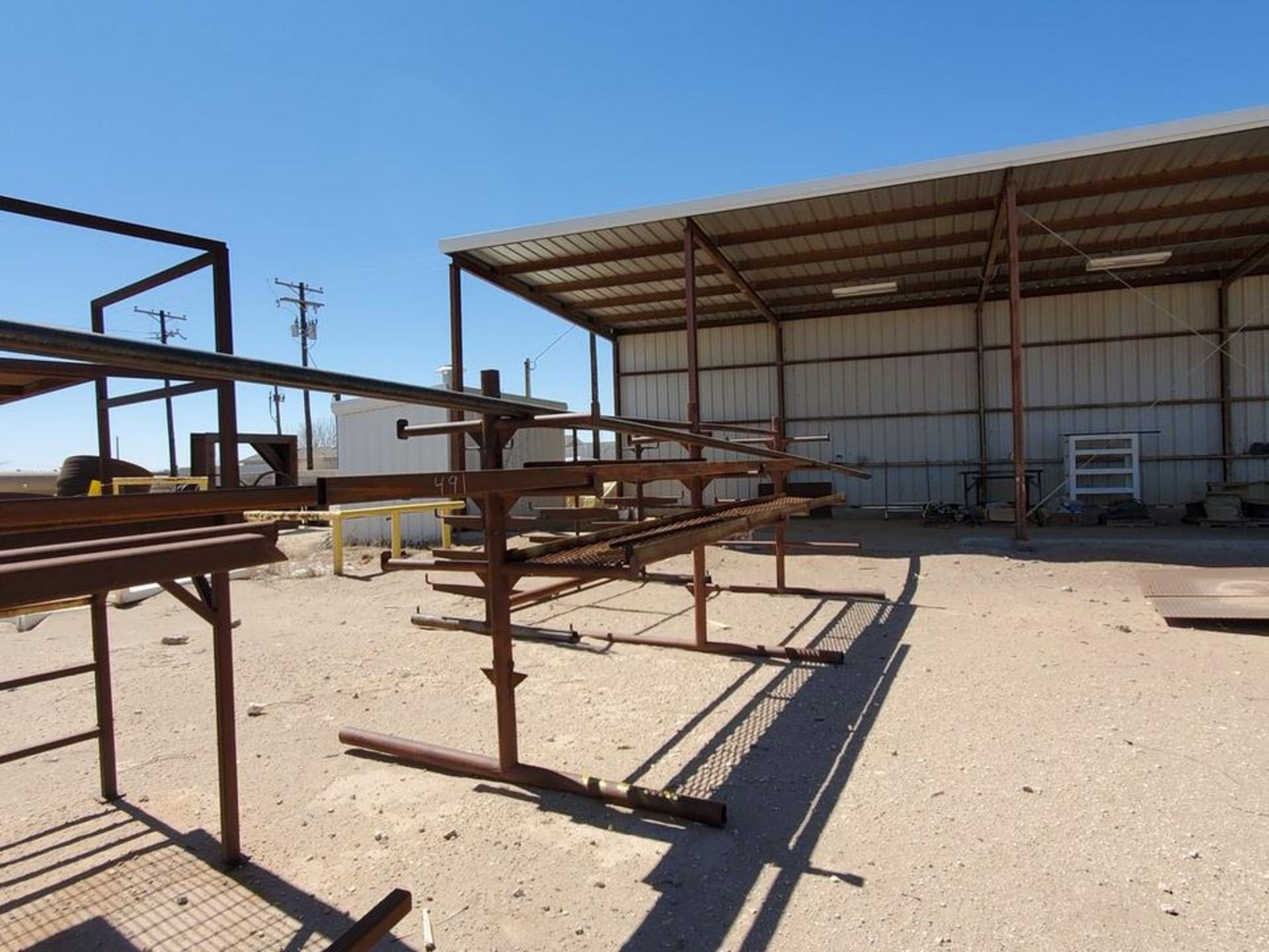 """(3) 3-Post Doublesided Cantilever Racks (2) 10' x 6' x 6'6"""", (1) 17' x 7' x 6'6"""" - Image 9 of 17"""