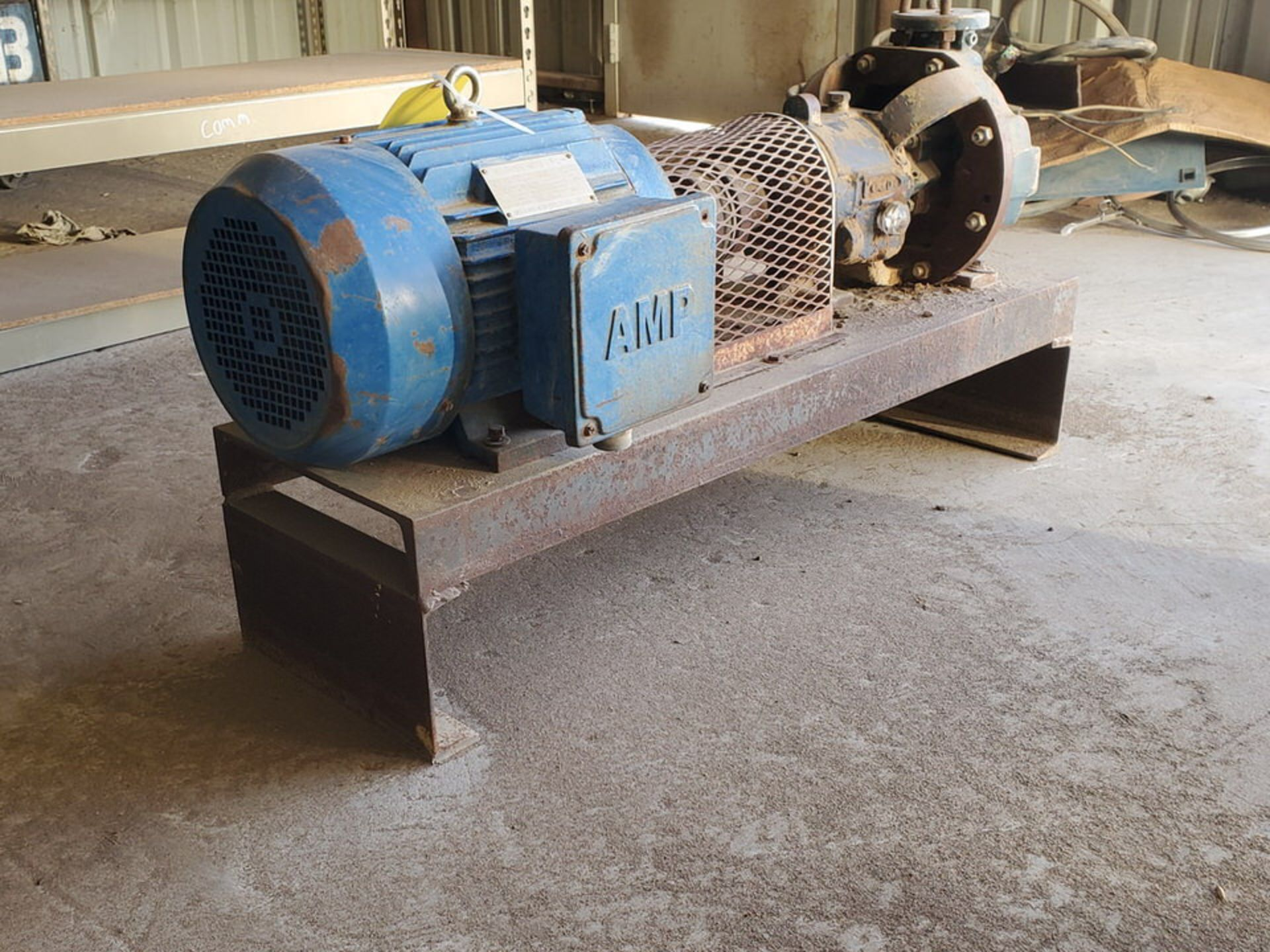 American-Marsh Pumps 1L1x1.5-6RV OSD Centrifugal Pump W/ 7.5HP Weg Motor - Image 7 of 9