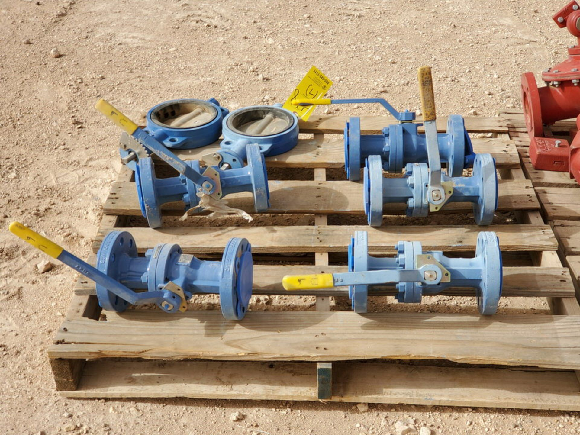 "(7) Assorted Valves (2) 6"" Wafer Butterfly, CE, 200#; (5) 2"" Virgo 600# Ball Valves - Image 4 of 9"