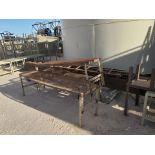 "Assorted Stl Matl. Racks & Ladders Size Range: 30"" x 26"" x 25""H - 29"" x 48"" x 50""H"