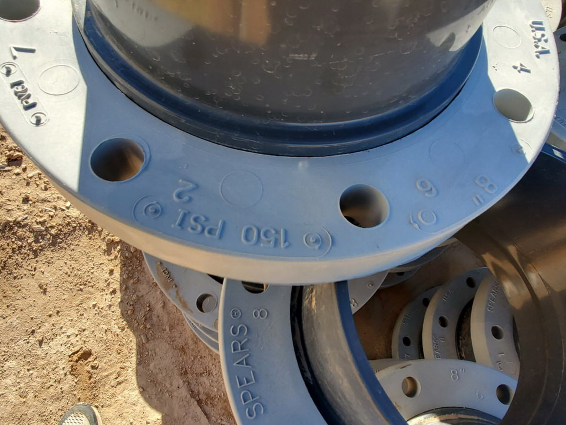 "Spears (46) 8"" PVC WN Flanges RF 150# - Image 5 of 5"