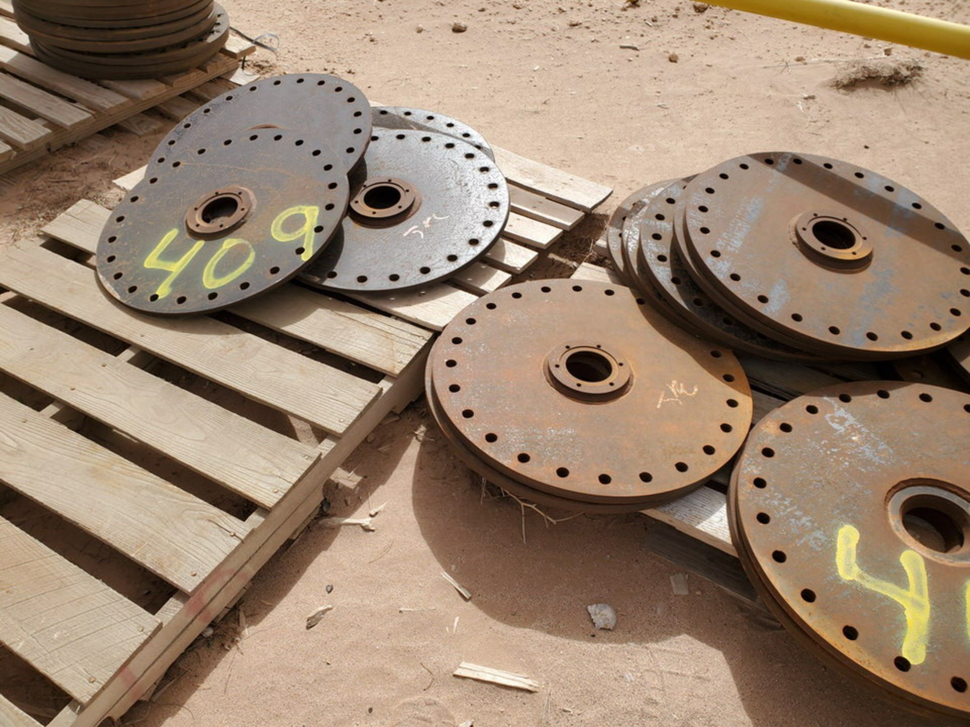 "(20) Flanges 3"" x 23-1/8"" O.D. - Image 9 of 11"