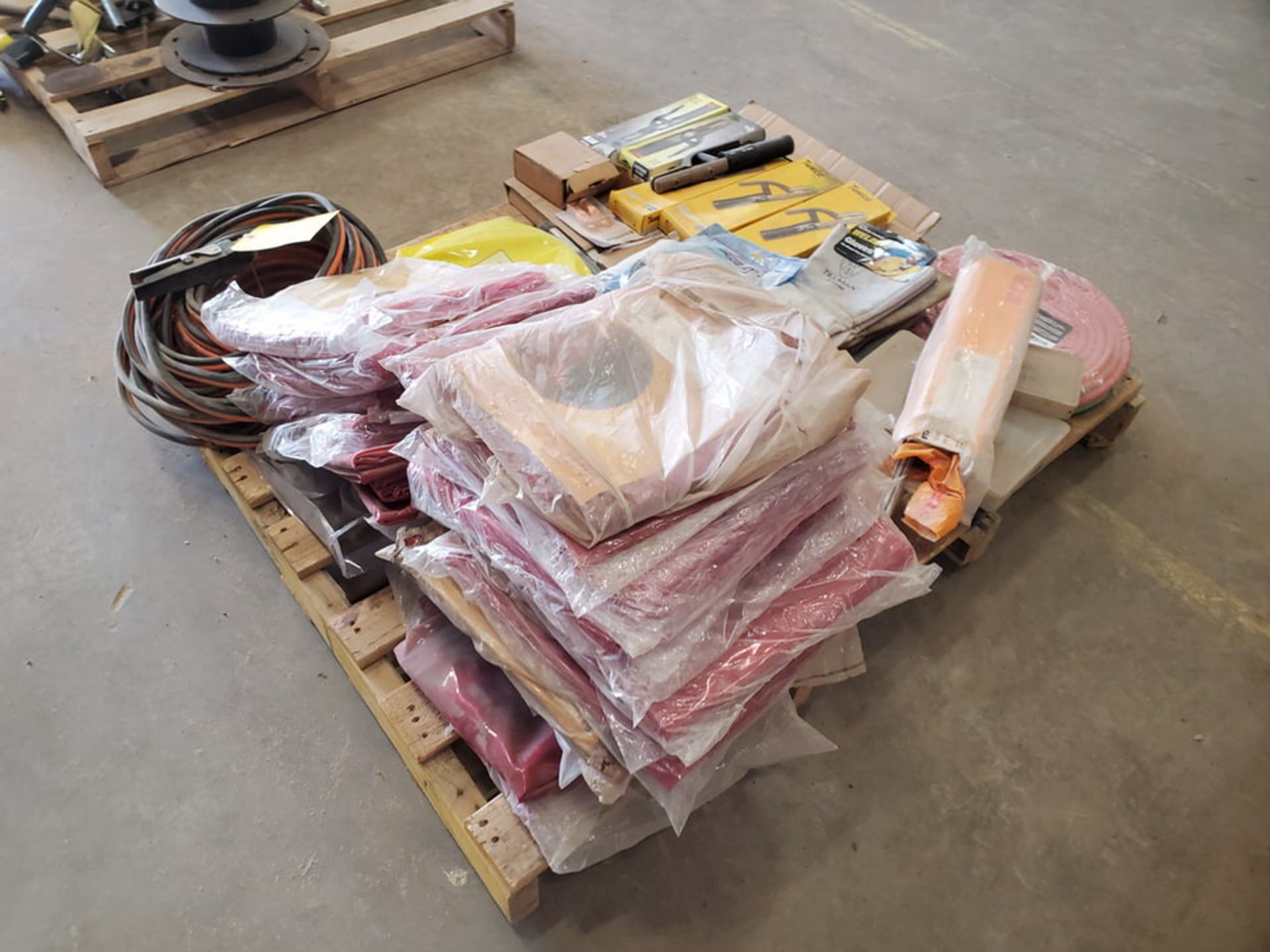 Assorted Welding Material To Include But Not Limited To: Electrode Holders, Gloves, Hoses, Rods, - Image 3 of 12