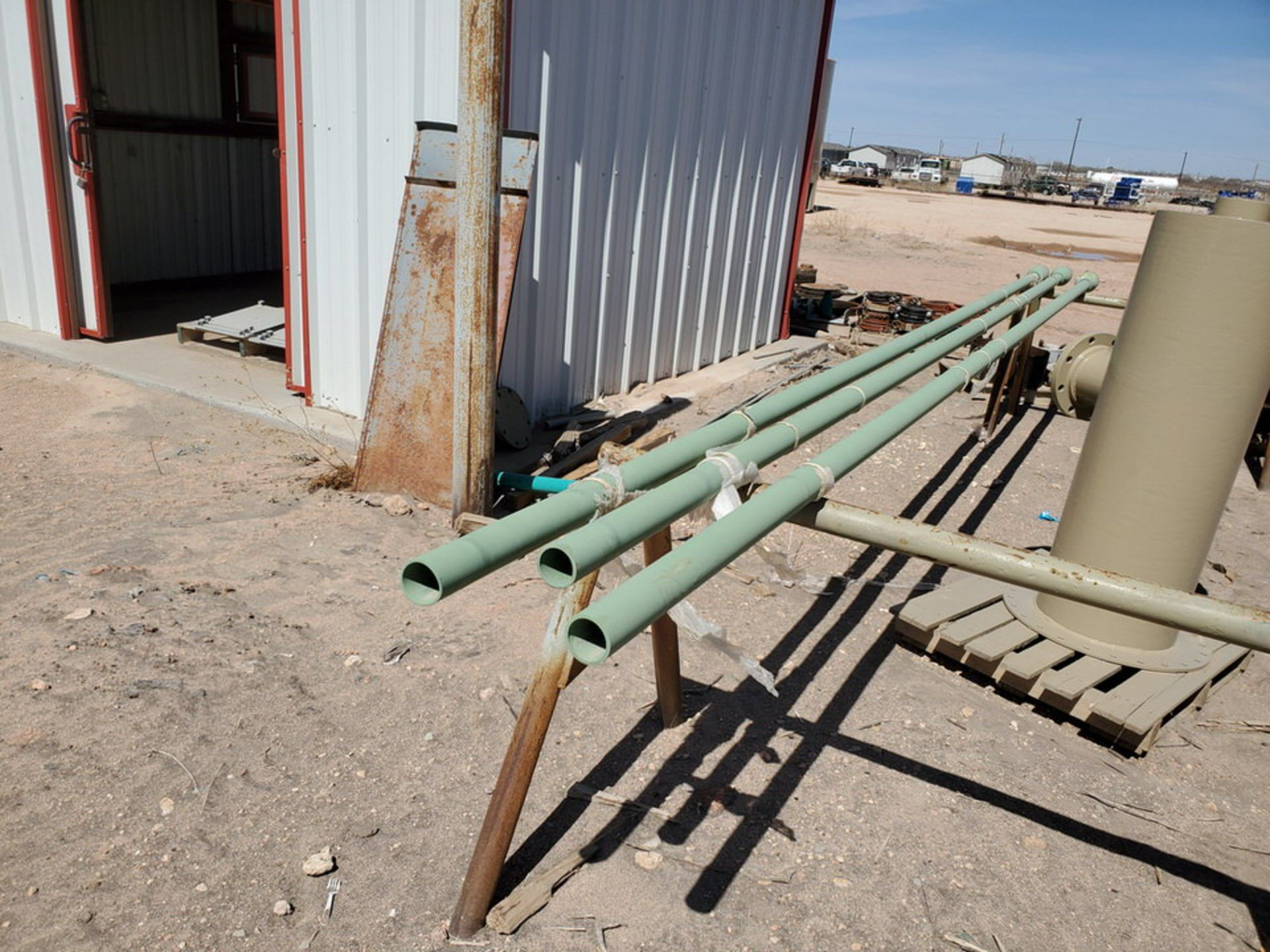 "(3) 2"" Pipe 19'2"" - Image 4 of 7"