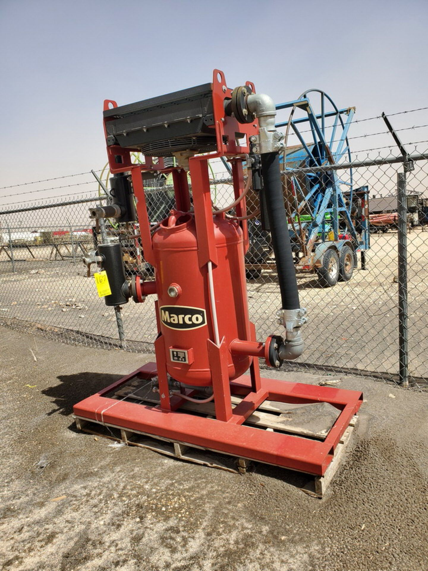 """2017 Marco Air Dryer 150psi@250F, -20@150psi, Vessel Dims: 30"""" Seam To Seam; Overall Dims: 72"""" x 35"""""""
