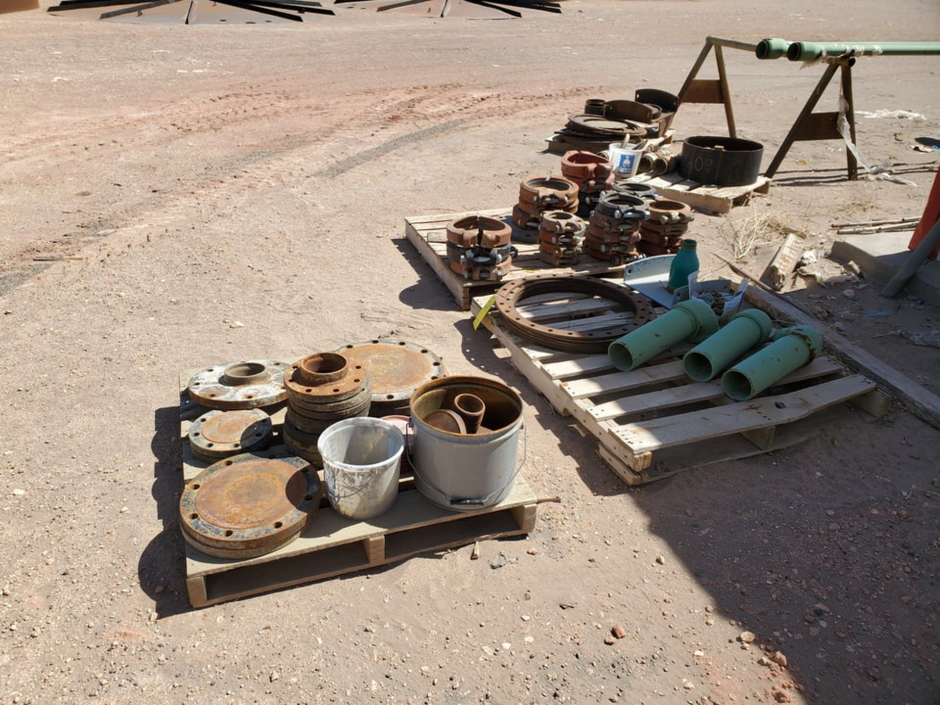 Assorted Fittings To Include But Not Limited To: Assorted Flanges, Caps, Couplings, etc.; Size