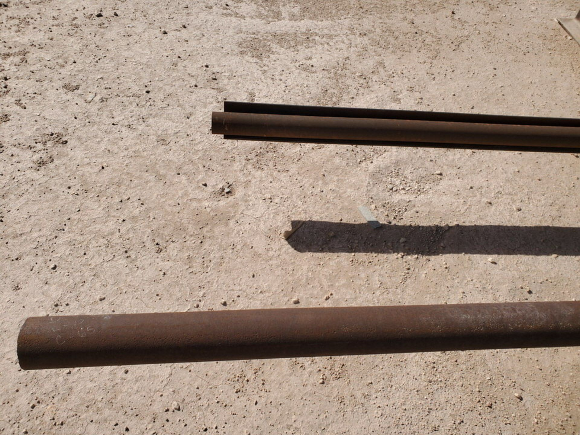 """(65) Angle, Pipe, Rect. Tubing & Other D: 3""""-4"""", L: 10' - 23'6""""; W/ Racks - Image 16 of 19"""