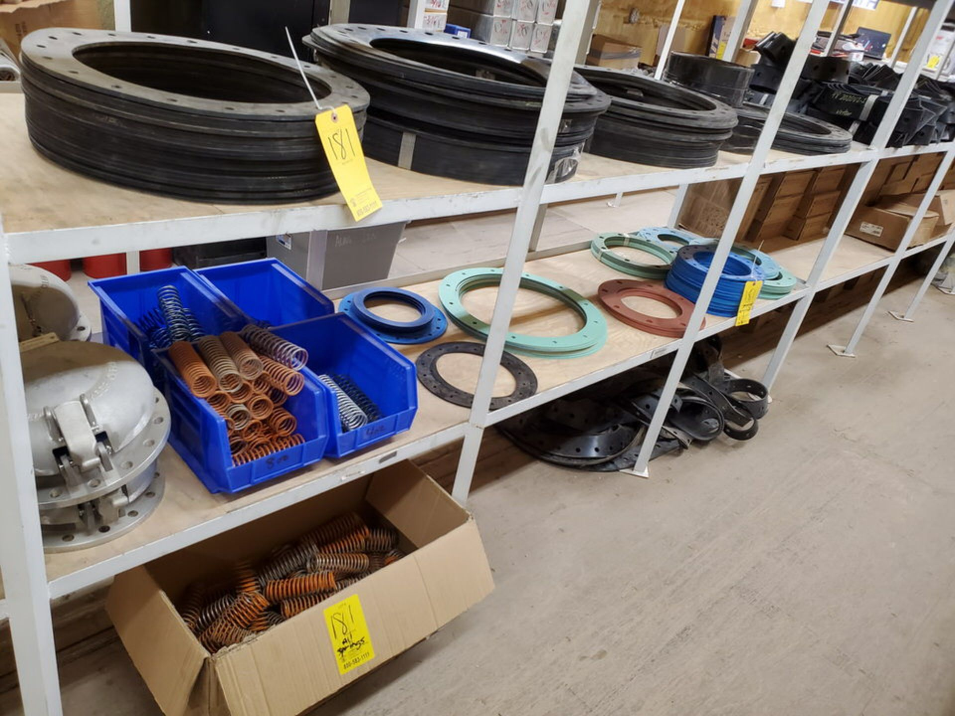 """Assorted Gaskets 9"""" - 48""""; W/ Assorted Springs"""