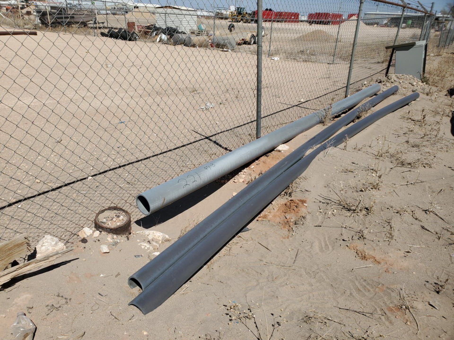 """(3) PVC Pipe Joints Sch 80 & Other; Size Range: 4""""-6"""", 17'9""""-20'L"""