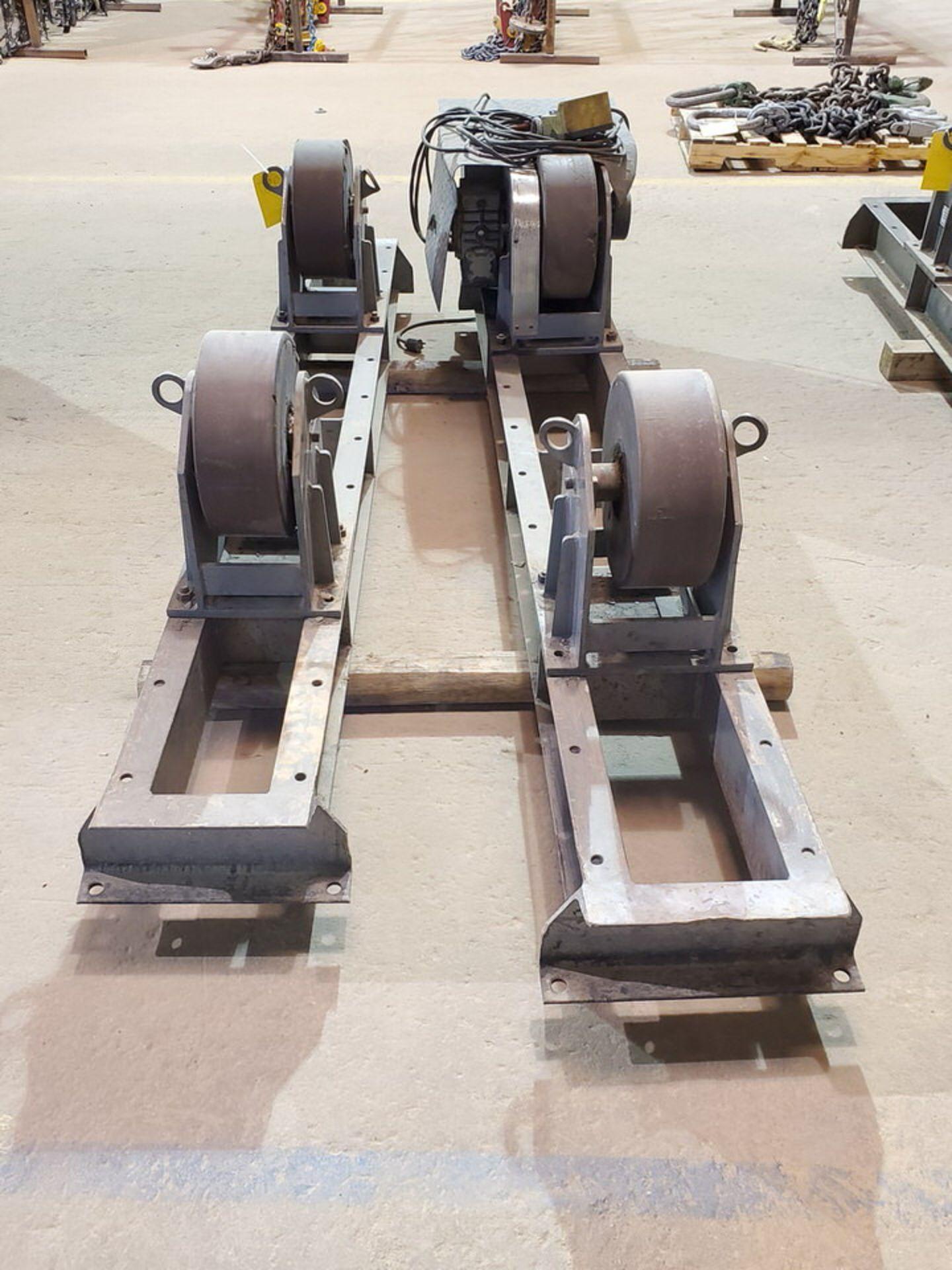 "Profax TR-20000 Turn Roll 10K Cap., 115V, 15A, 50/60HZ, 1PH, RPM: 0-1.9; 5"" Wheel Dia. - Image 6 of 8"