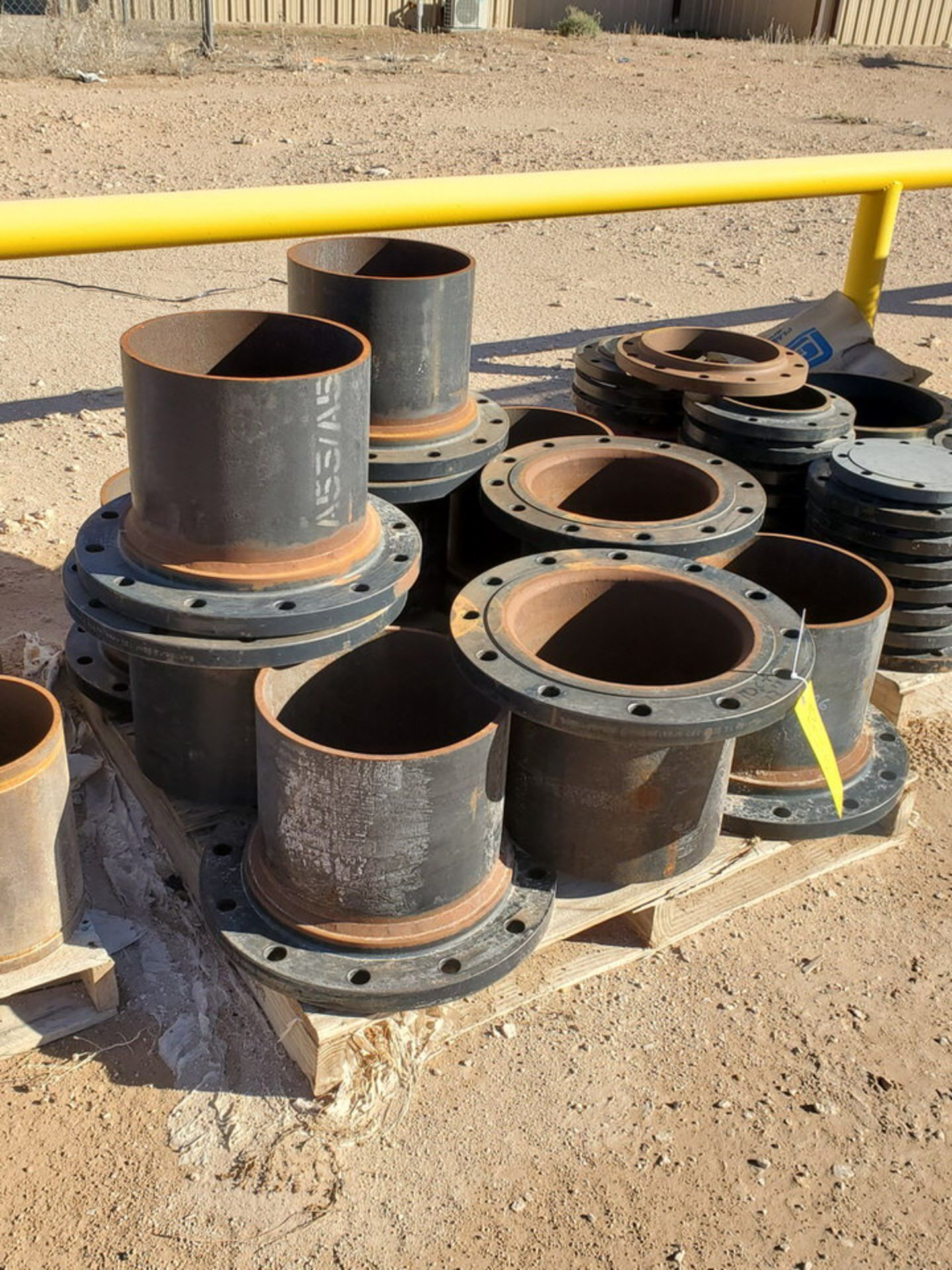 "(24) 12"" Stl Flanged Pipe 150# A/SA105"