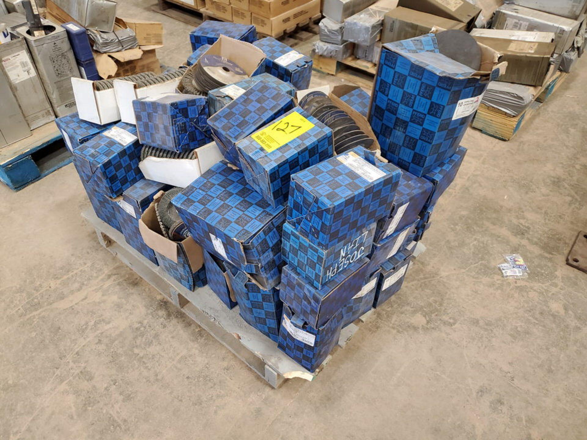 "Pferd Assorted Grinding & Flap Discs & Wire Brushes Size Range: 4-1/2""-9"" x 1/8"""