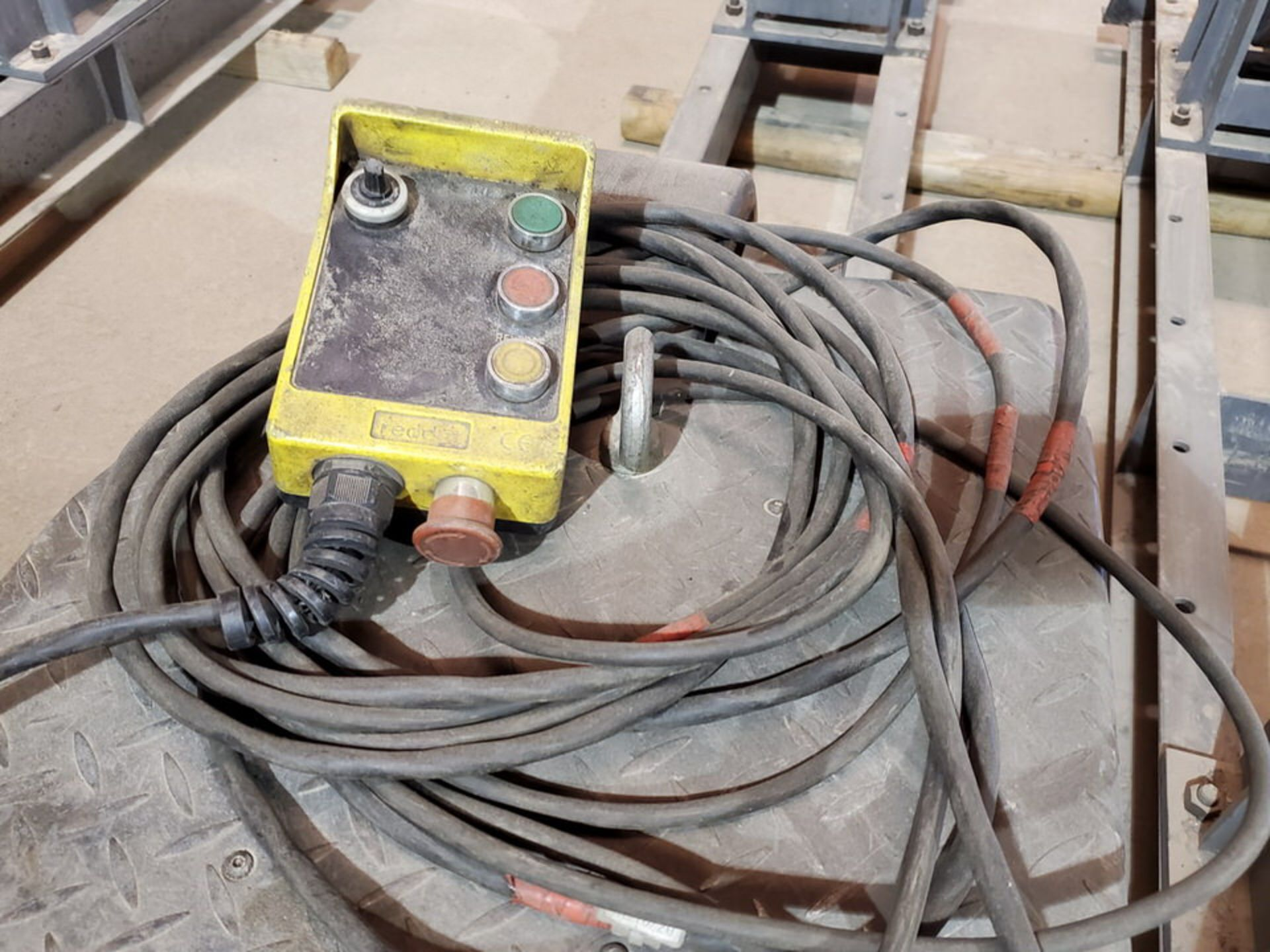 "Profax TR-20000 Turn Roll 10K Cap., 115V, 15A, 50/60HZ, 1PH, RPM: 0-1.9; 5"" Wheel Dia. - Image 7 of 8"