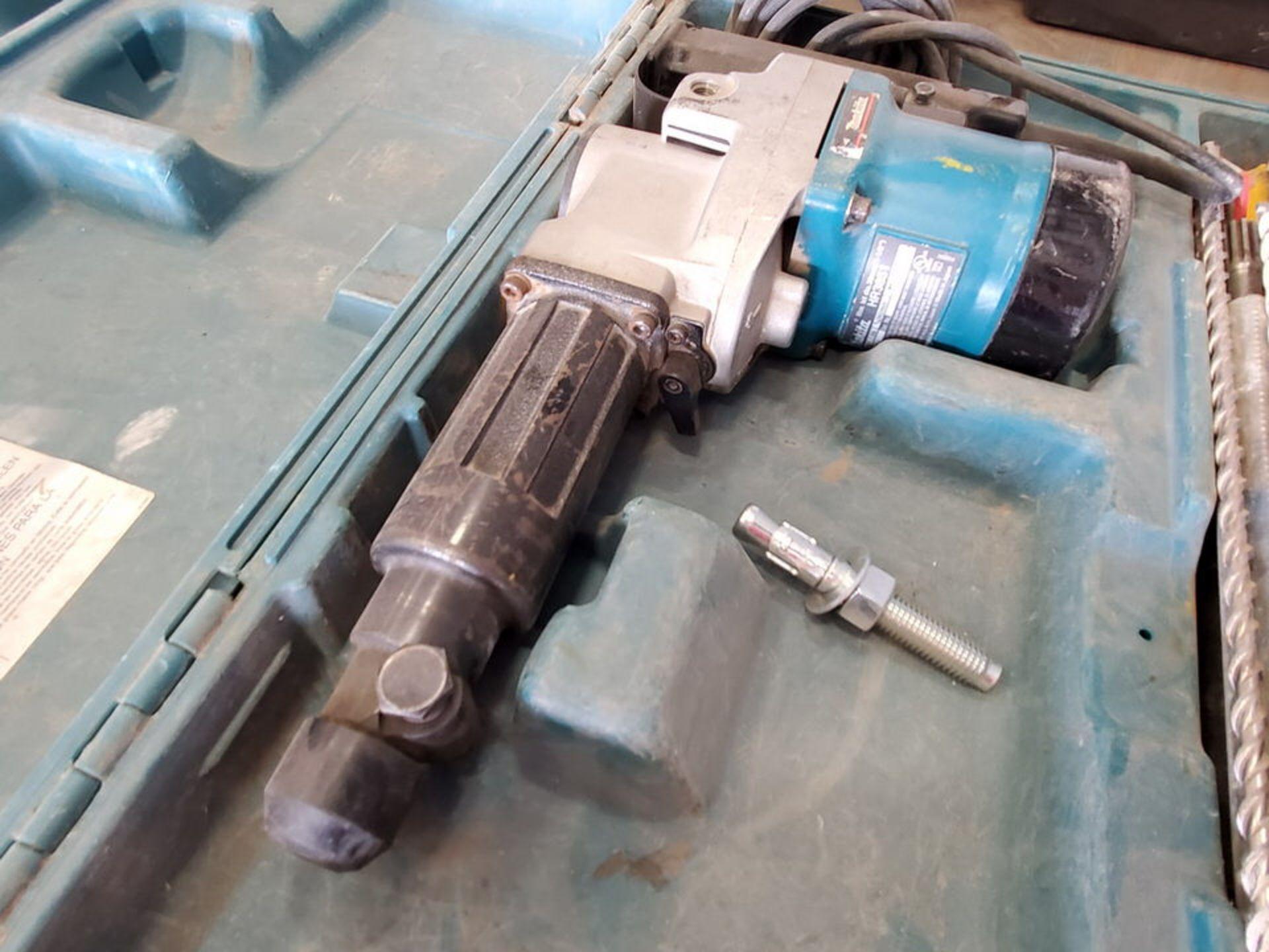 "Makita HR3851 1/2"" Rotary Hammer 120V, 10A, 2900RPM - Image 3 of 5"