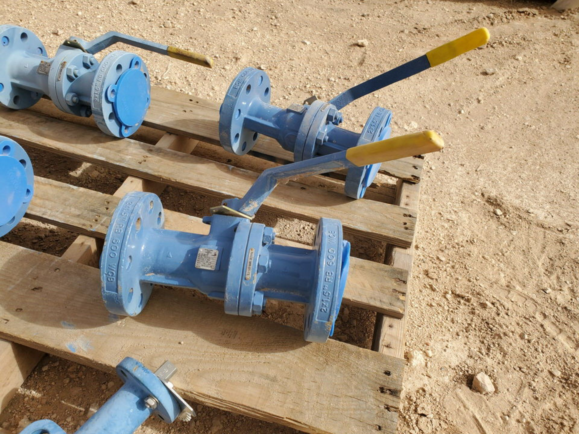 "(7) Assorted Valves (2) 6"" Wafer Butterfly, CE, 200#; (5) 2"" Virgo 600# Ball Valves - Image 7 of 9"