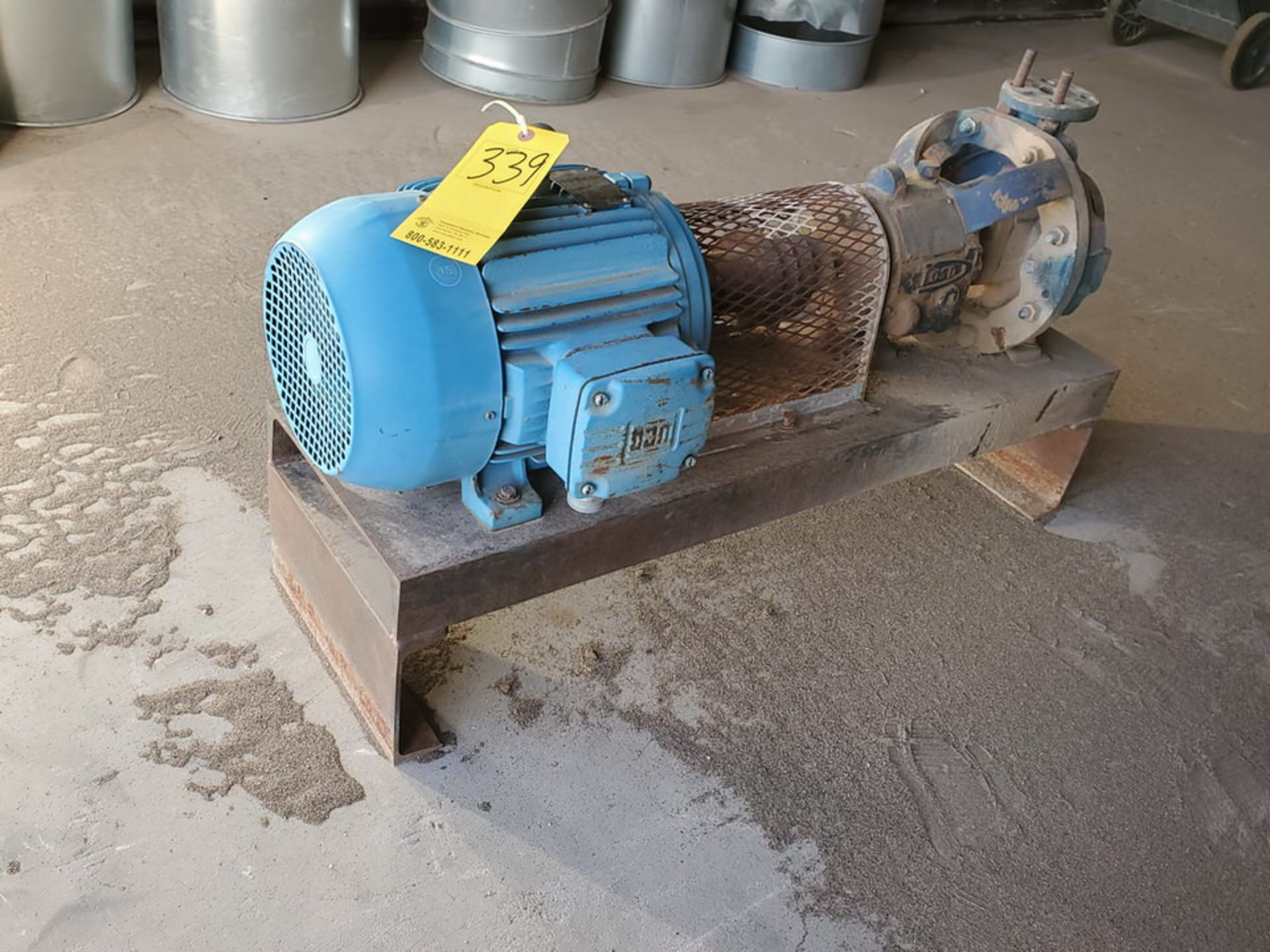 American-Marsh Pumps 1L1x1.5-6RV OSD Centrifugal Pump W/ 7.5HP Weg Motor - Image 6 of 9