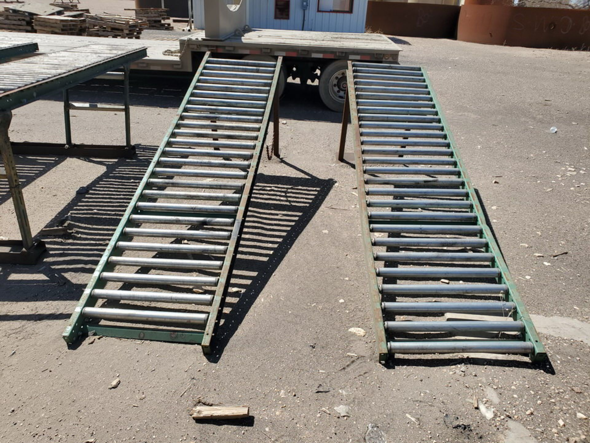 "Ashland & Other (6) Roller Conveyor 10' x 24"" - Image 2 of 7"