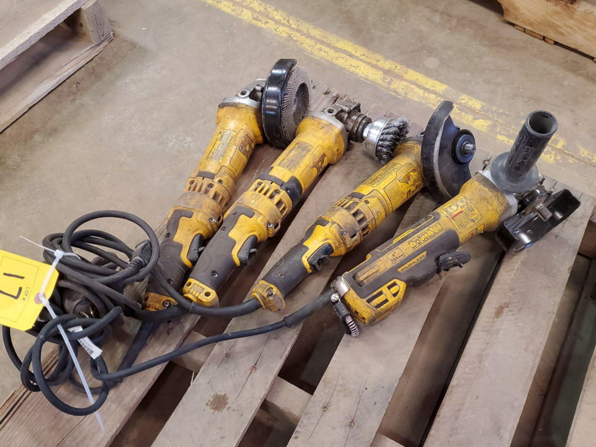 """Dewalt (4) 6"""" Angle Grinders 120V, 12A - Image 2 of 5"""