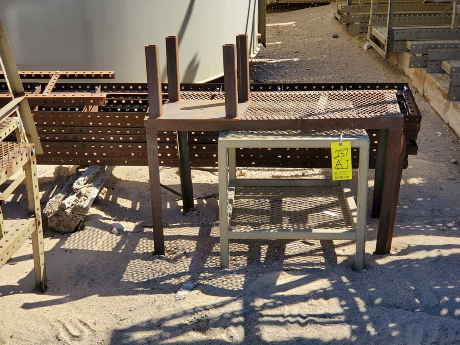 "Assorted Stl Matl. Racks & Ladders Size Range: 30"" x 26"" x 25""H - 29"" x 48"" x 50""H - Image 12 of 18"