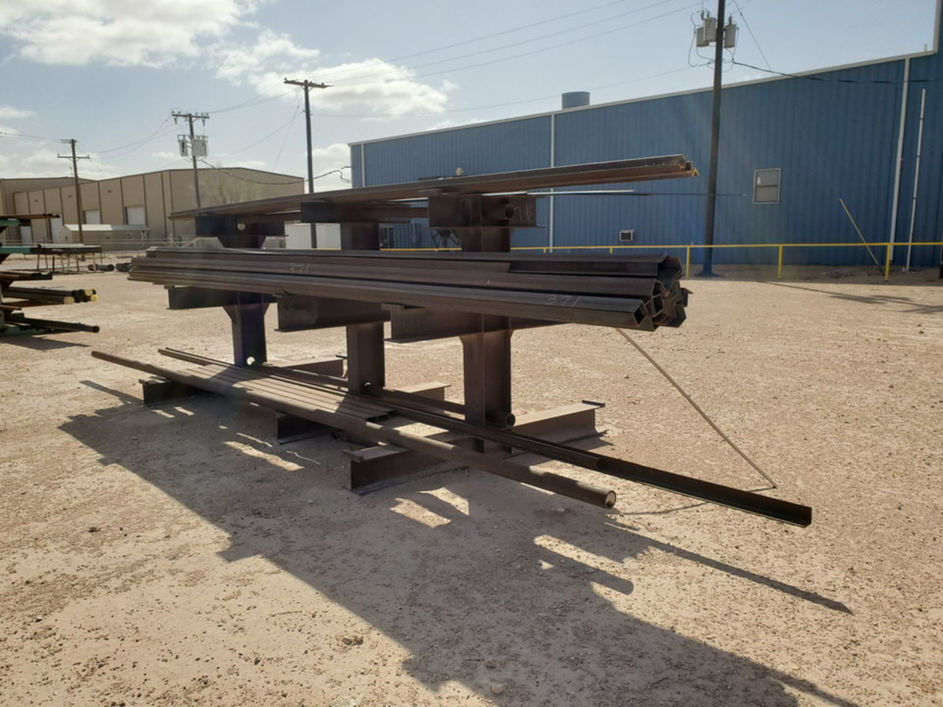 """(65) Angle, Pipe, Rect. Tubing & Other D: 3""""-4"""", L: 10' - 23'6""""; W/ Racks - Image 13 of 19"""