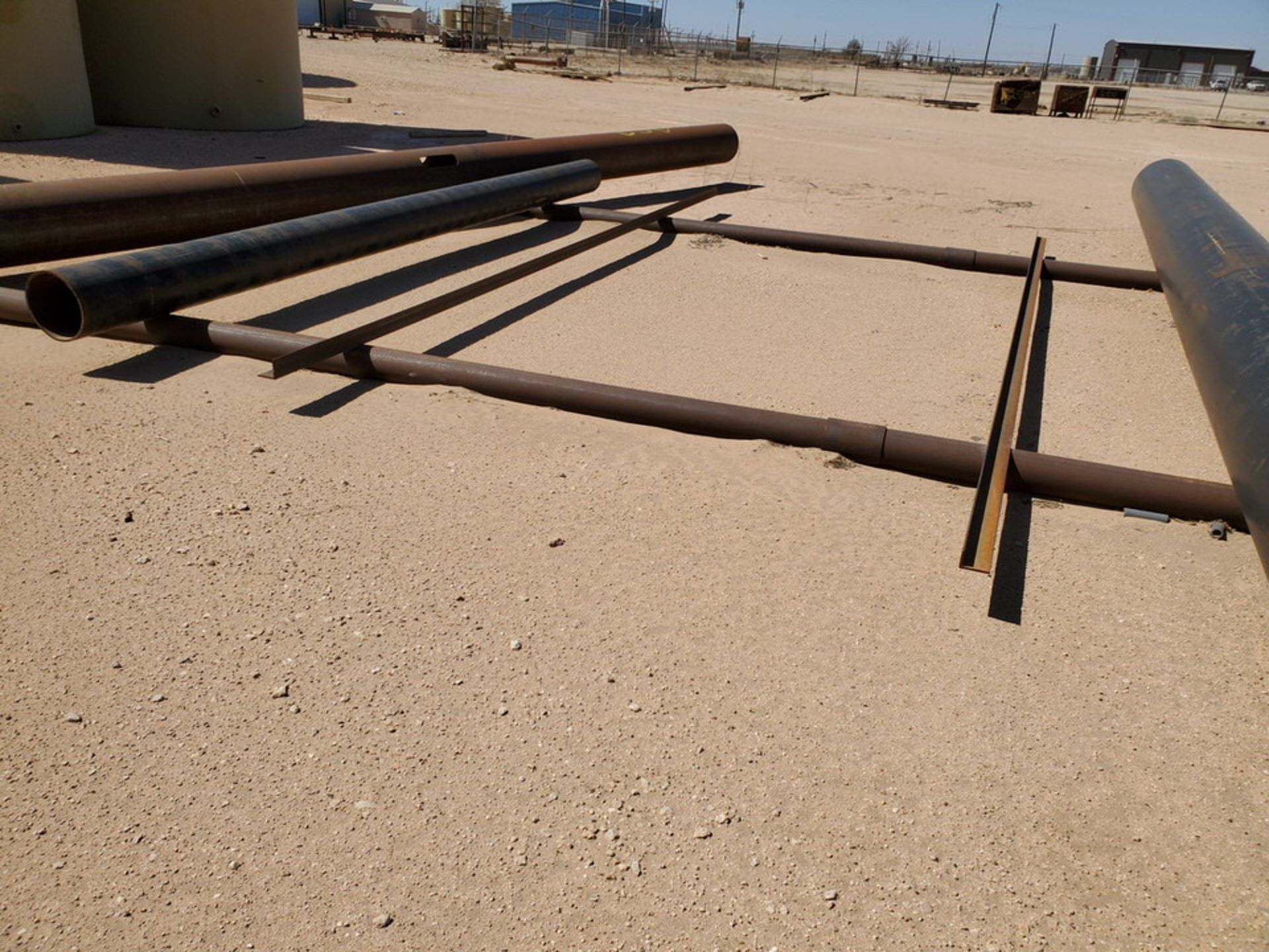 Assorted Stl Material To Include Butg Not Limited To: Pipe, Angle, Sq. Tubing, etc.; Size Range: - Image 8 of 12