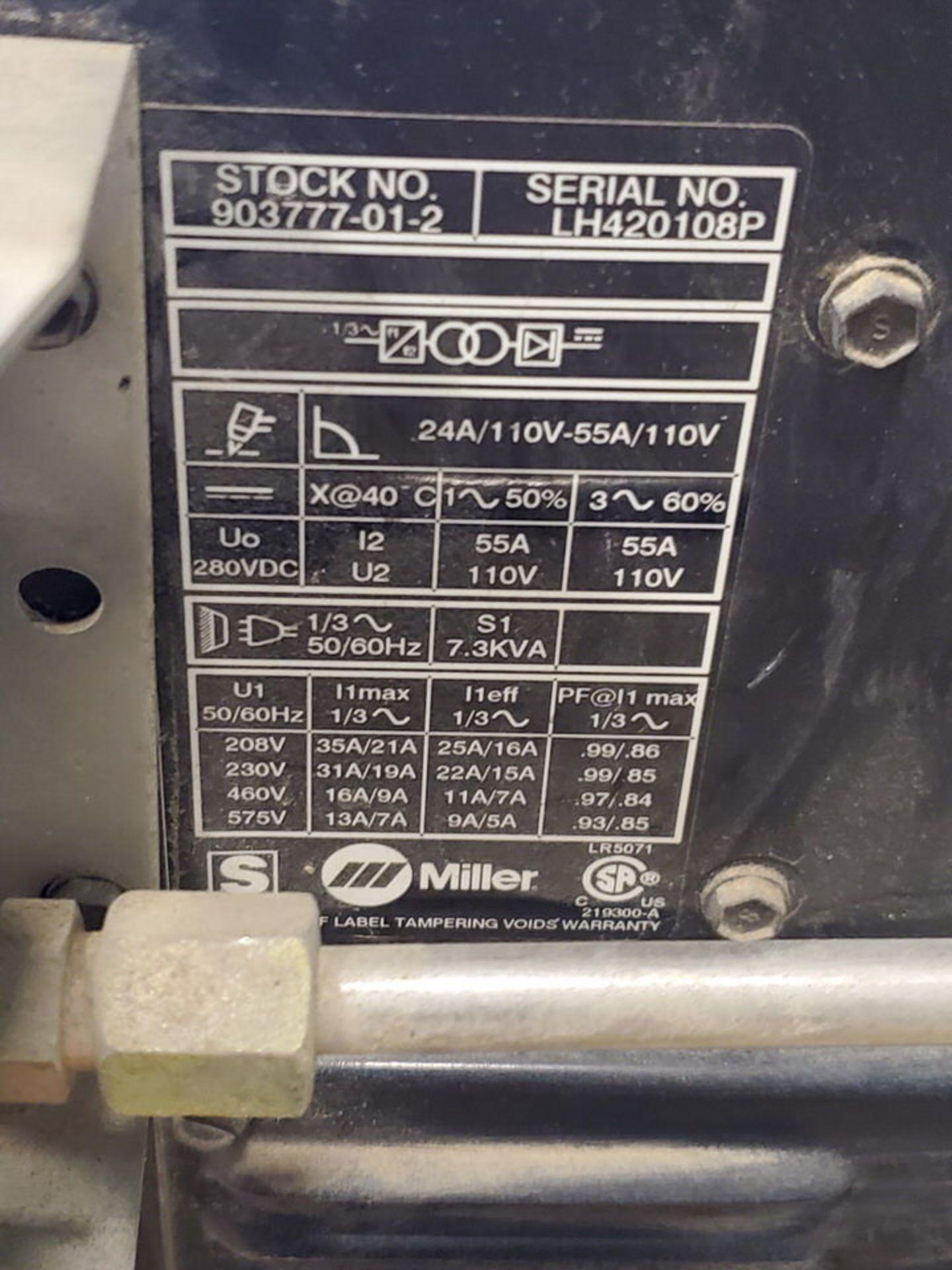 Miller Spectrum 2050 Plasma Cutter 208-575V, 50/60HZ, 3PH - Image 6 of 6